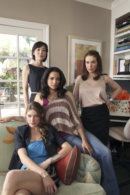 Jess Macallan, Yunjin Kim, Rochelle Aytes, Alyssa Milano
