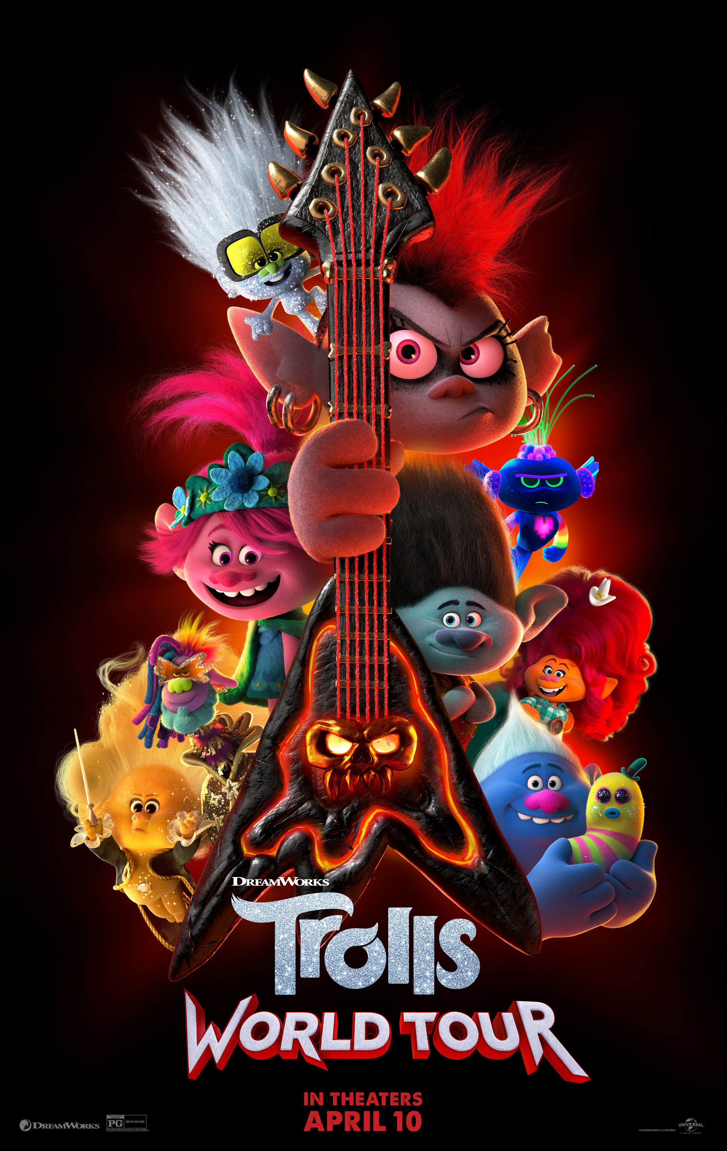 Trolls World Tour Guide To The New Cast Members Who S Playing Who Gallery Wonderwall Com