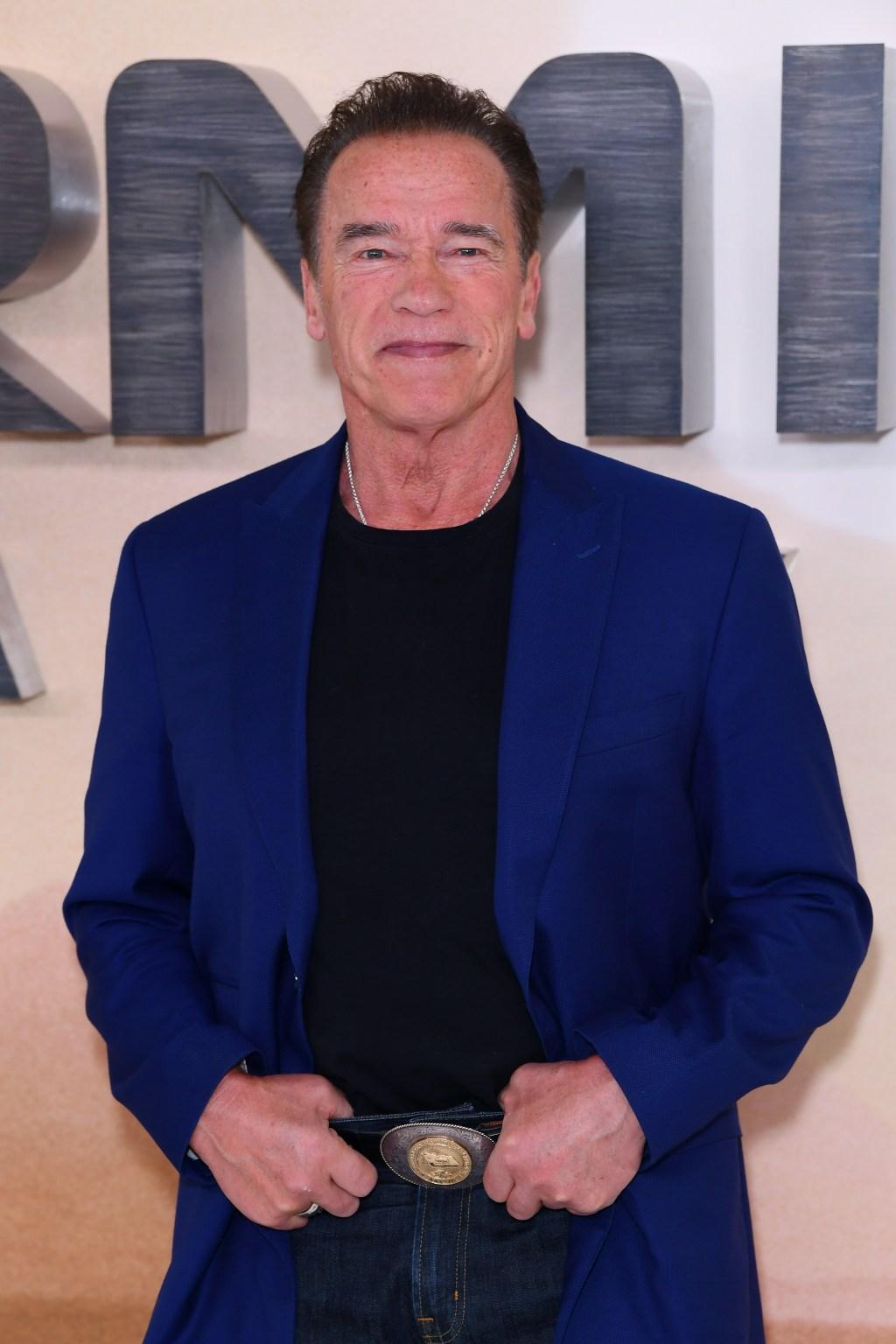 Arnold Schwarzenegger, Terminator: Dark Fate photocall