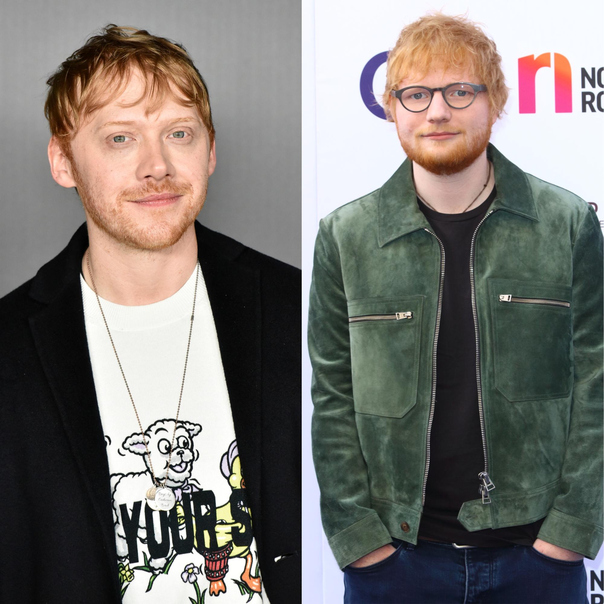Rupert Grint, Ed Sheeran