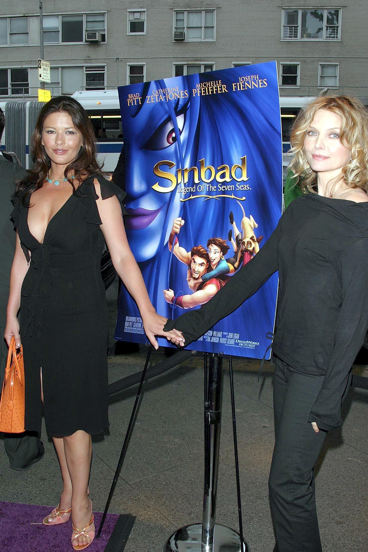 Catherine Zeta Jones and Michelle Pfeiffer