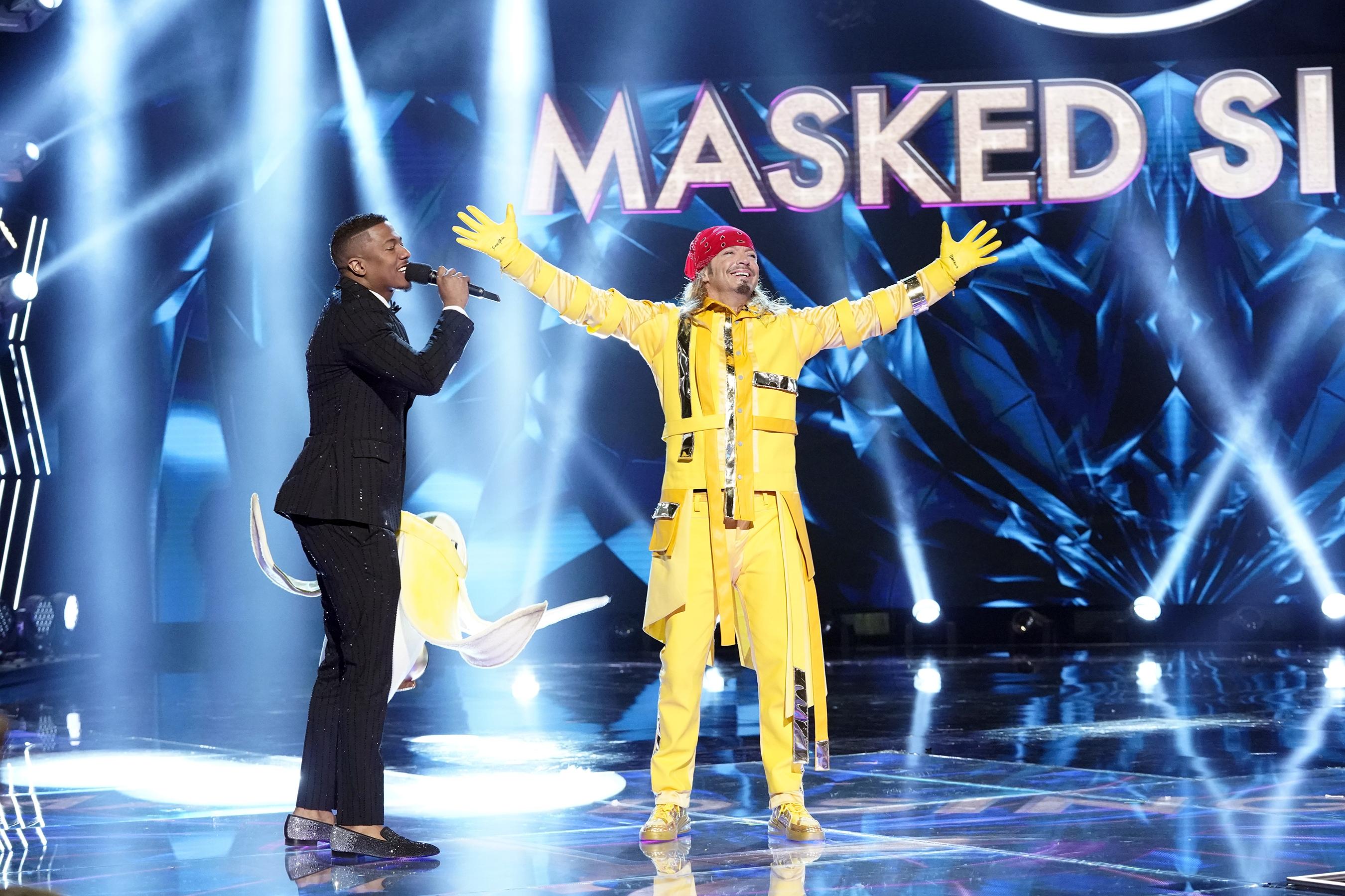 The Masked Singer, Banana, Bret Michaels, Nick Cannon