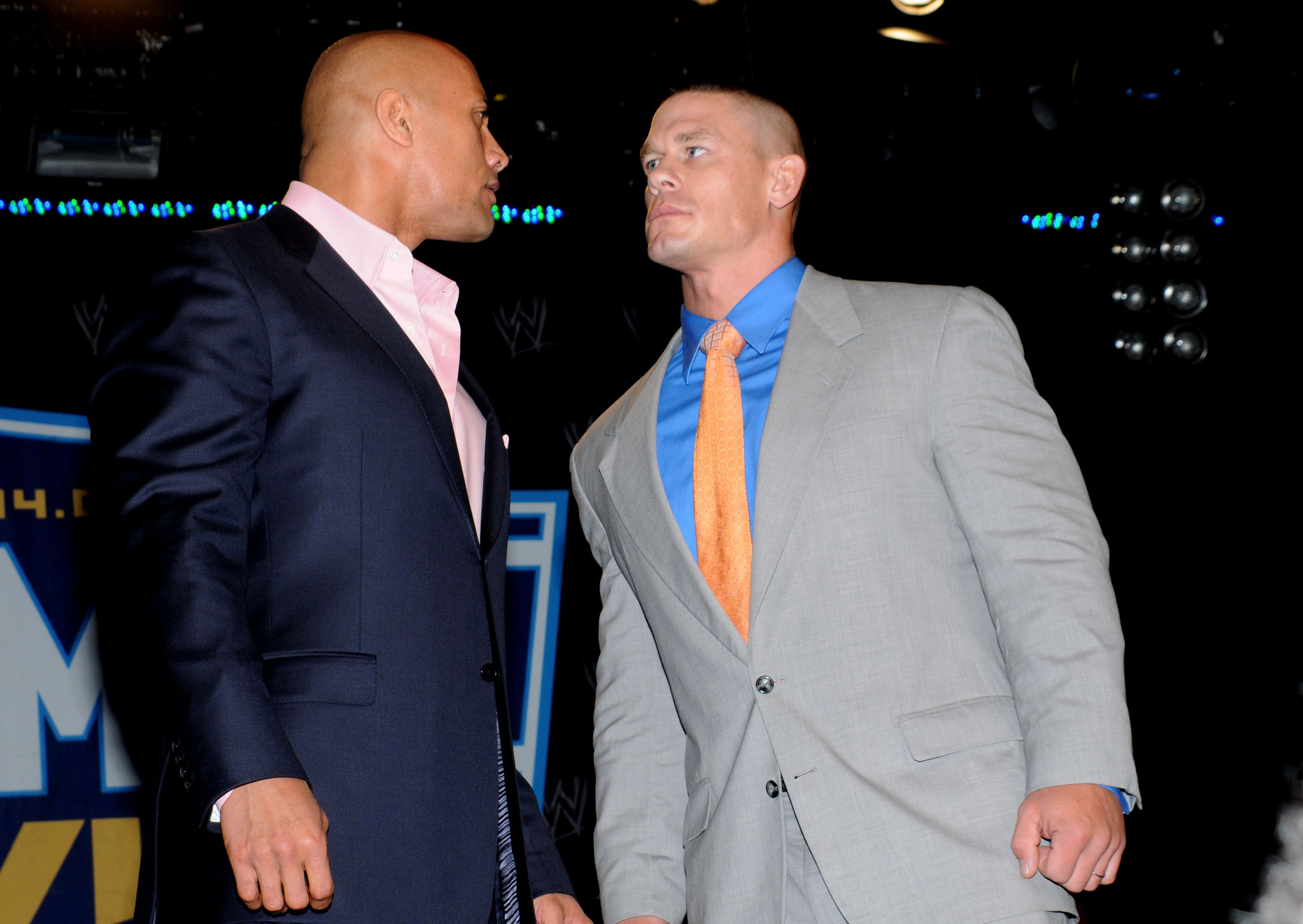Dwayne Johnson, John Cena
