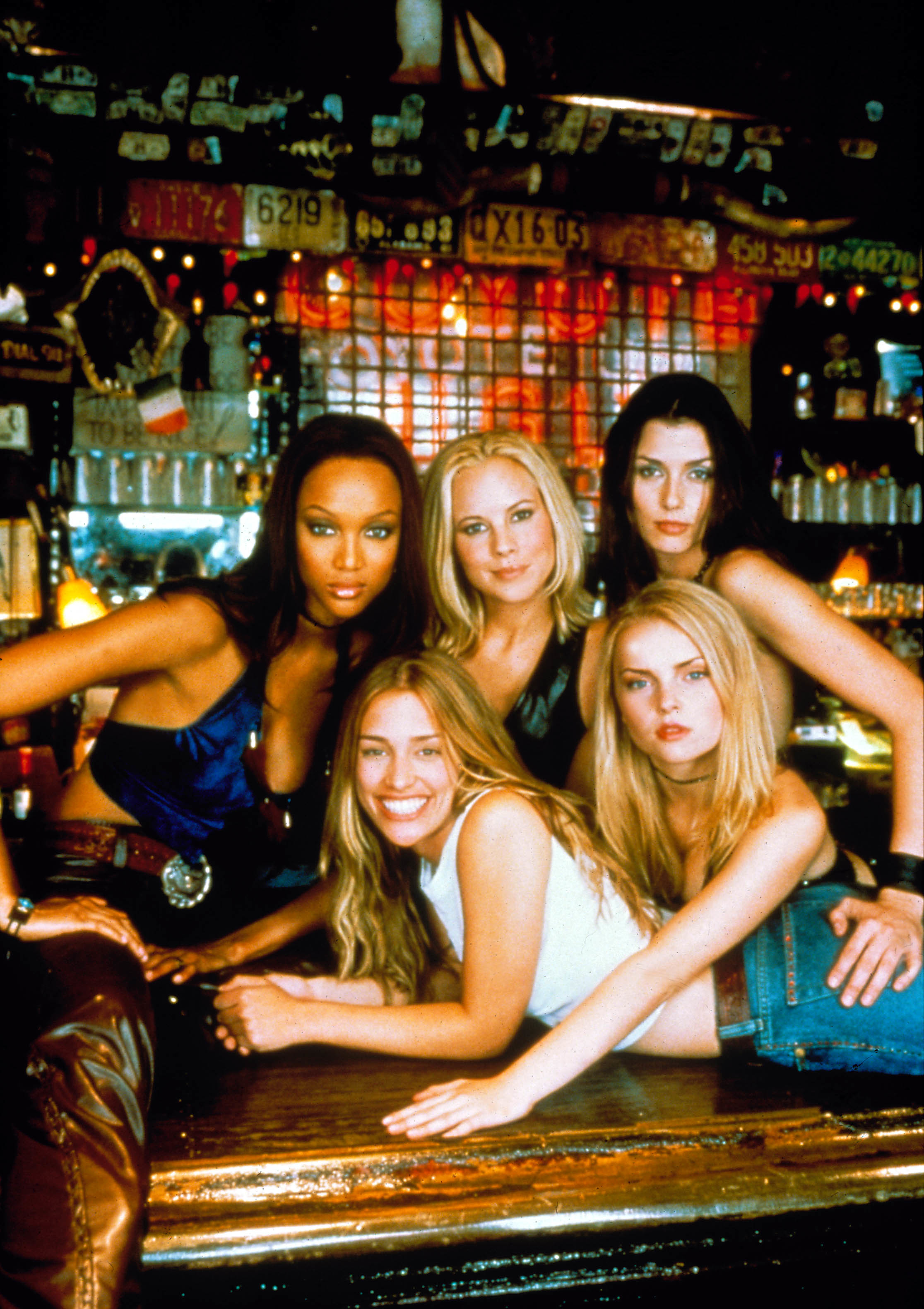Coyote Ugly, Tyra Banks, Piper Perabo, Maria Bello, Bridget Moynahan, Izabella Miko