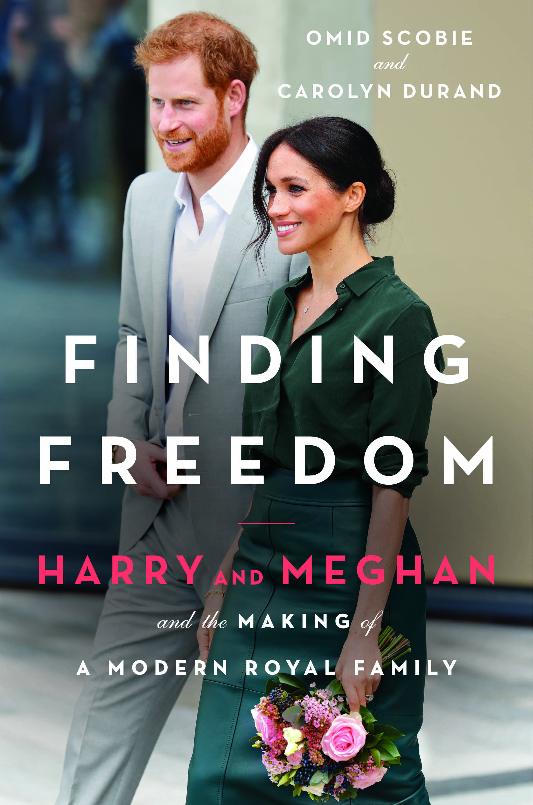Prince Harry, Duchess Meghan, Finding Freedom book cover