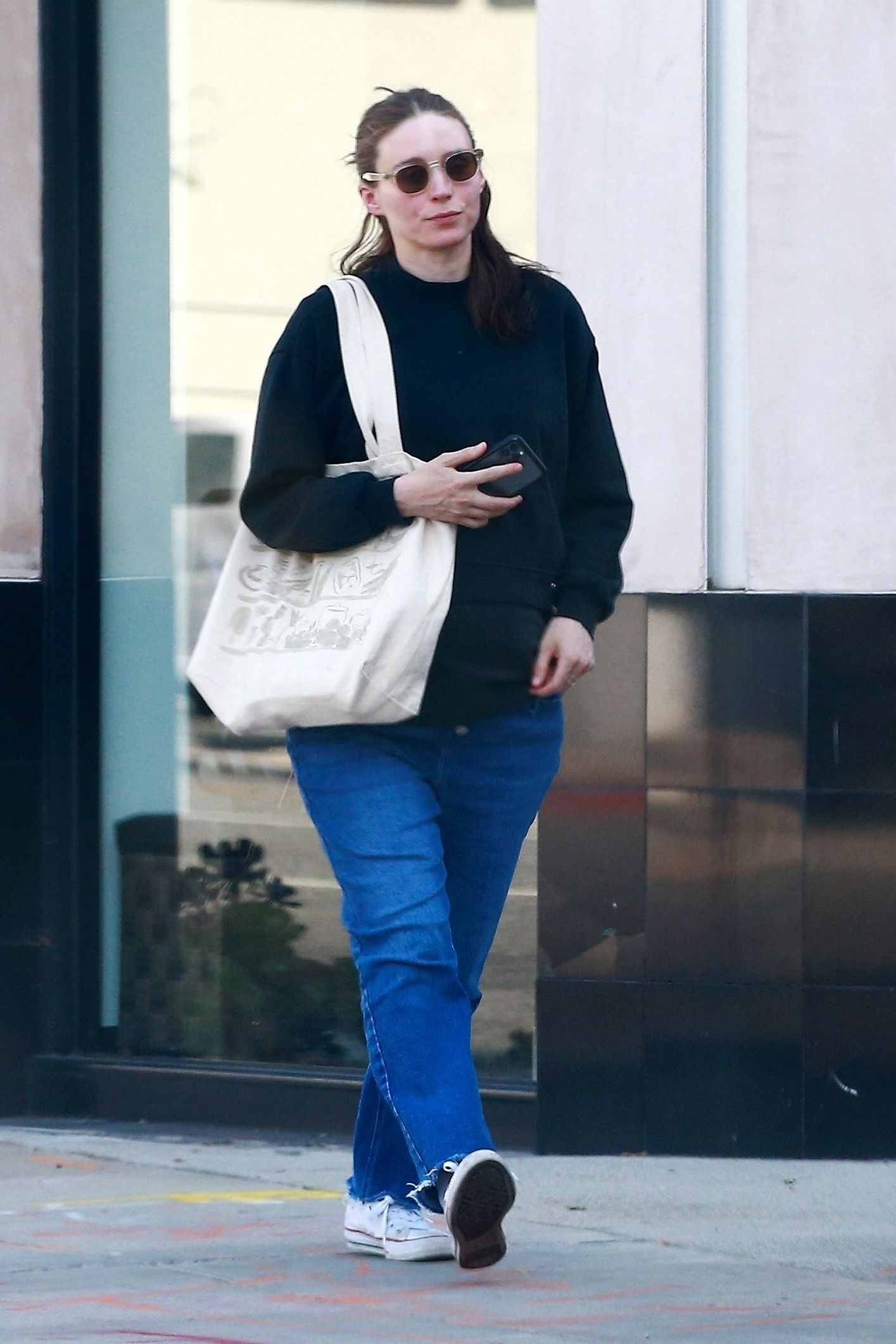 Rooney Mara treats herself to a Spa Day