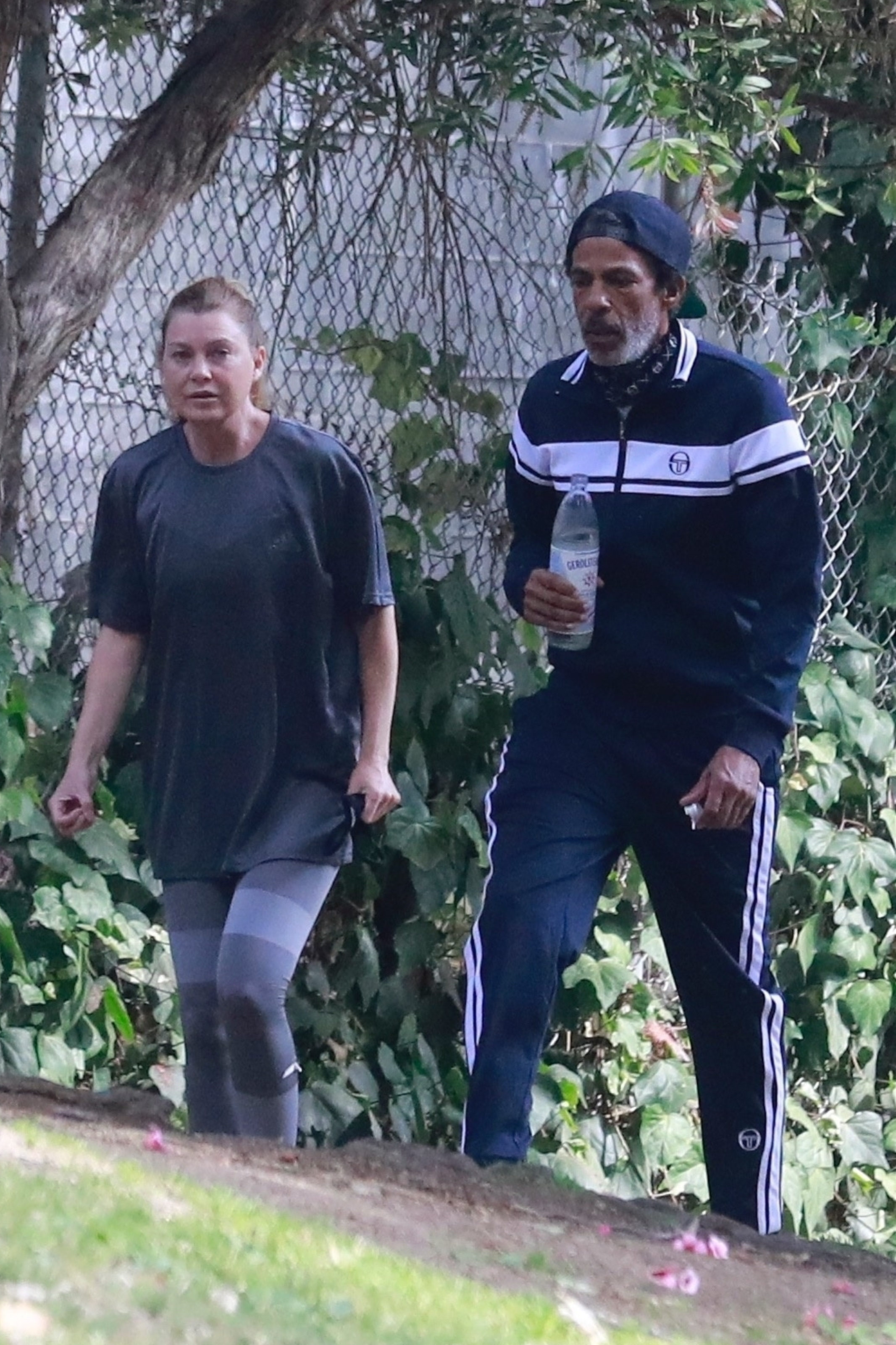 Ellen Pompeo and Chris Ivery go for a hike at Griffith Park