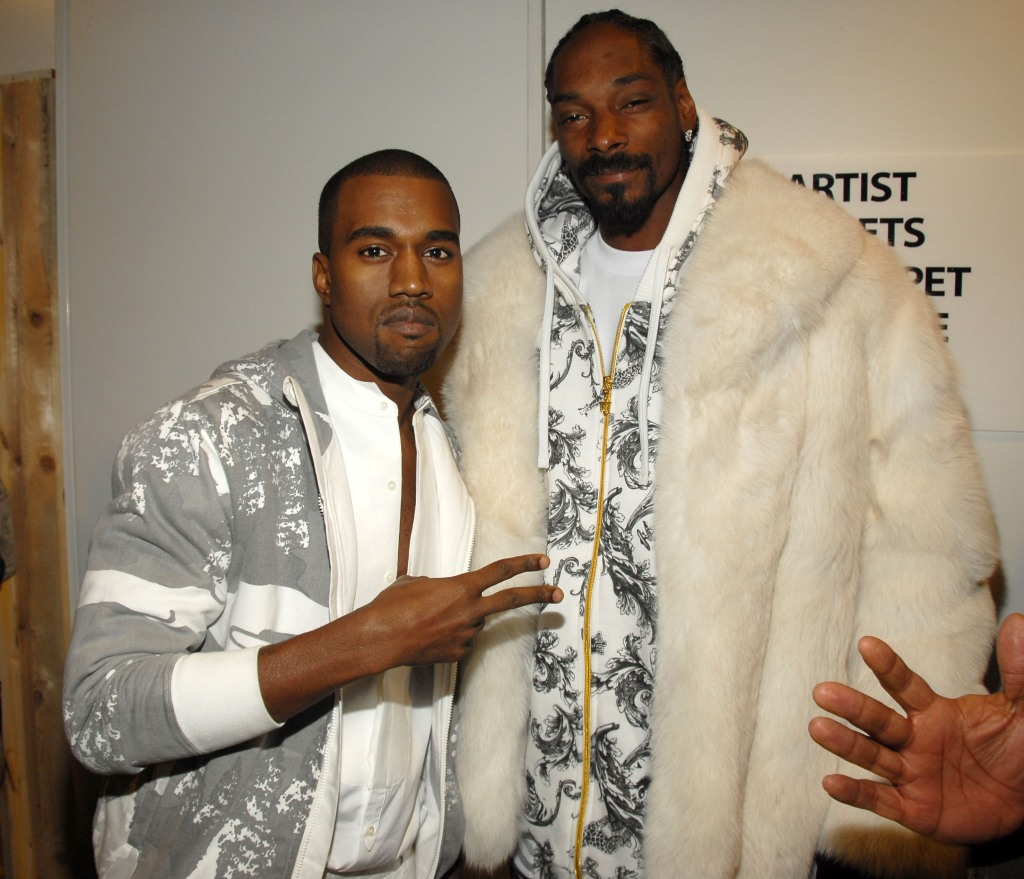 Kanye West and Snoop Dogg