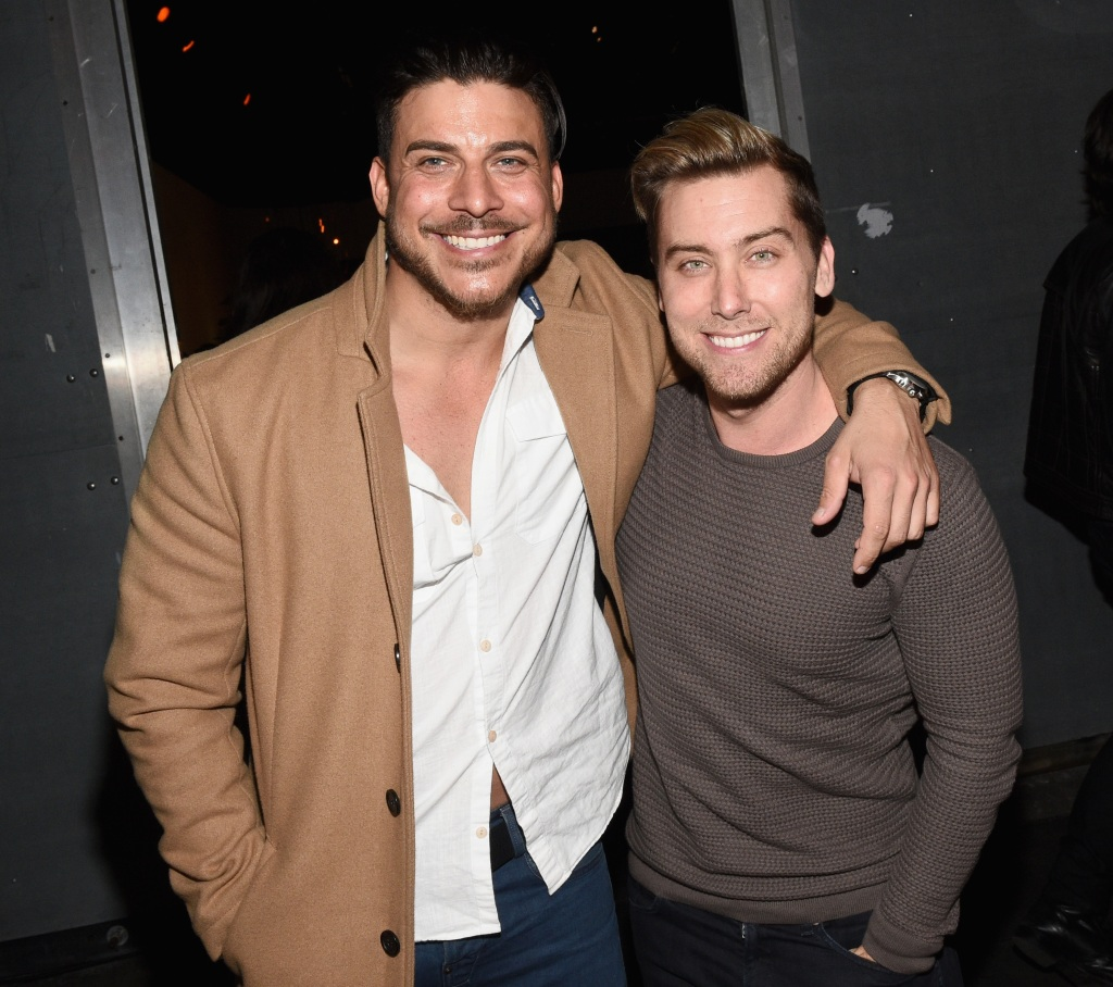 Jax Taylor and Lance Bass