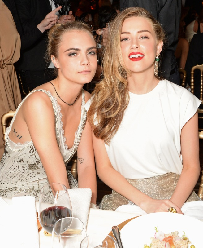 Amber Heard reportedly cheated on Johnny Depp with Cara Delevingne ...
