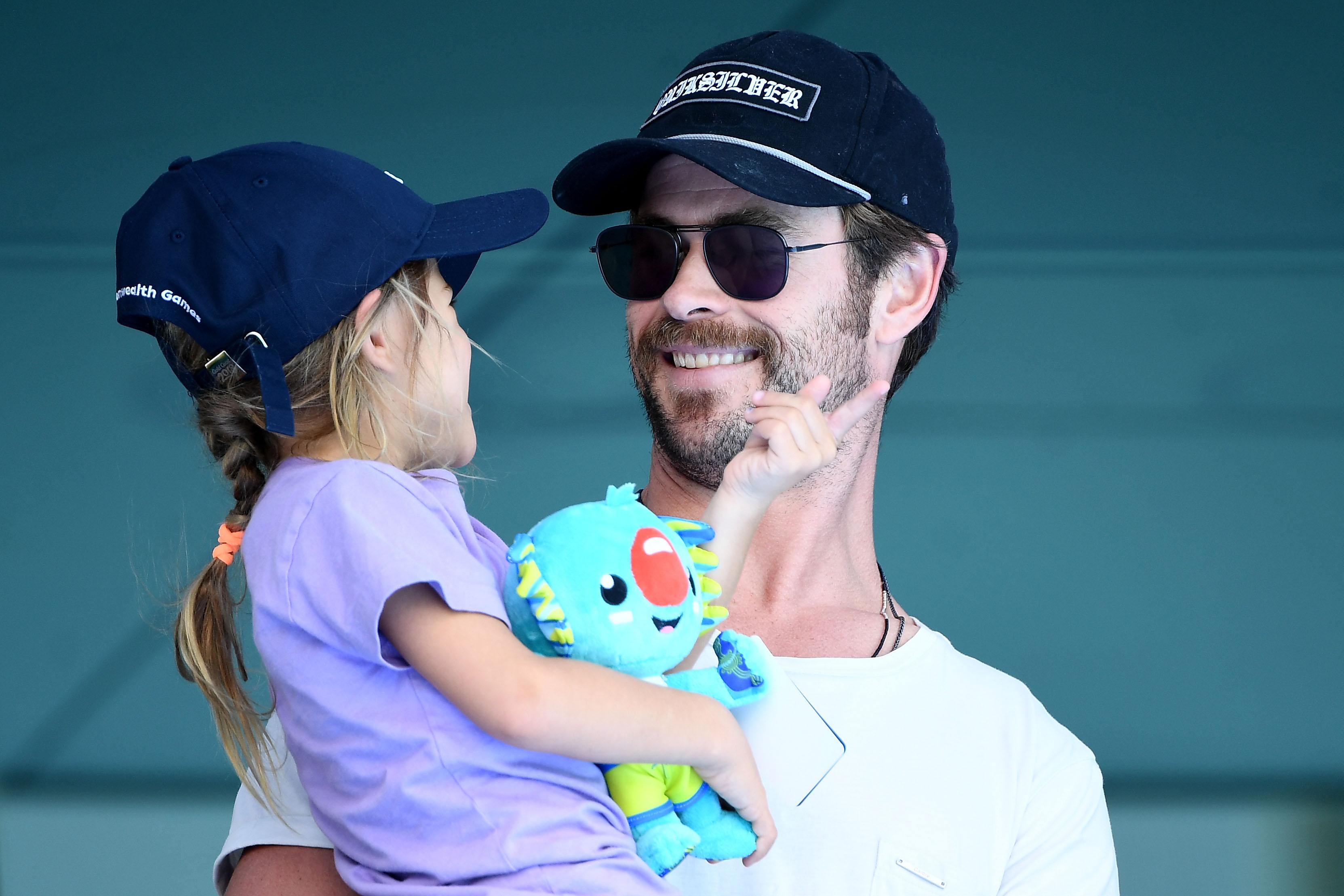 Chris Hemsworth, daughter, India Rose Hemsworth
