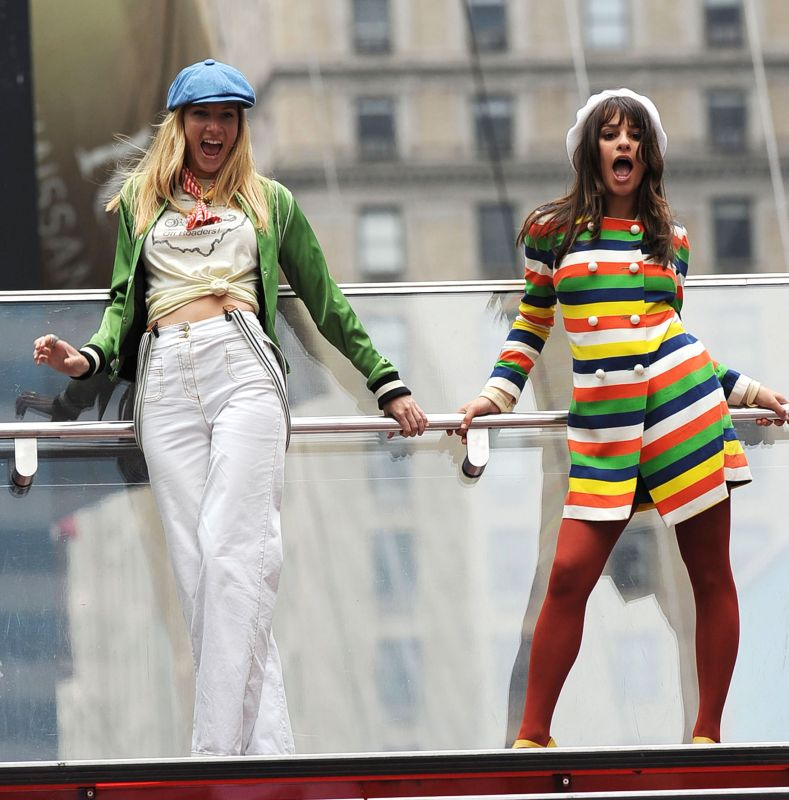 Lea Michele S Roller Coaster Year So Far Gallery Wonderwall Com