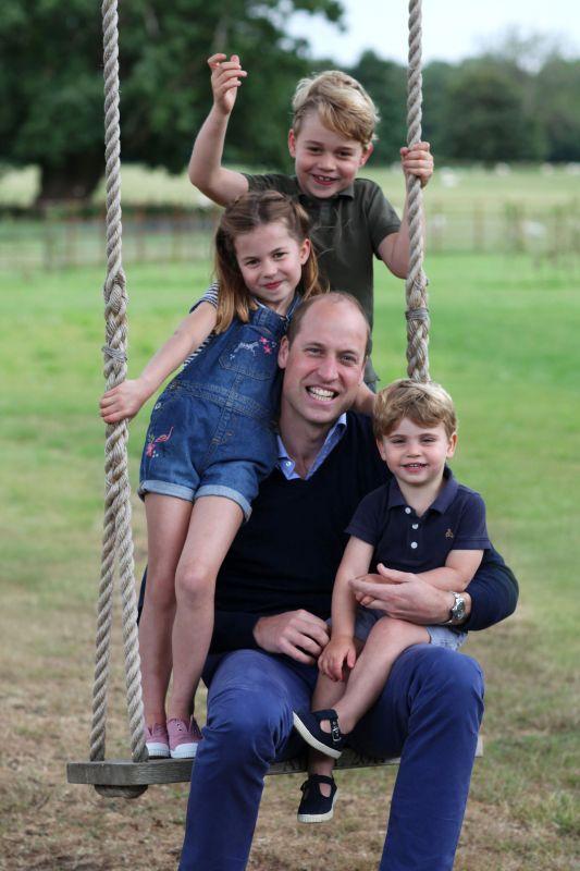Prince William, Prince George, Princess Charlotte, Prince Louis