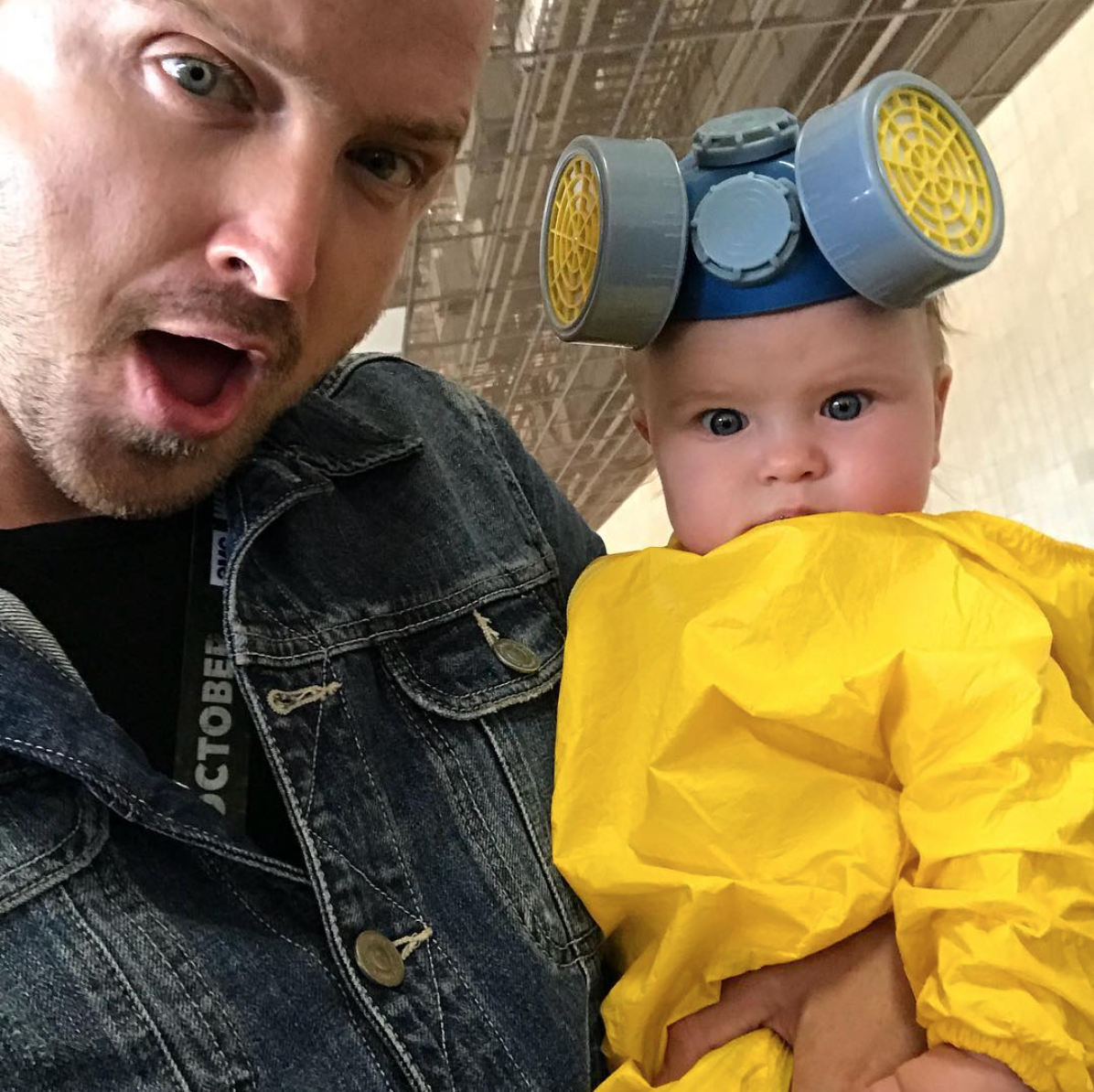 Aaron Paul, daughter