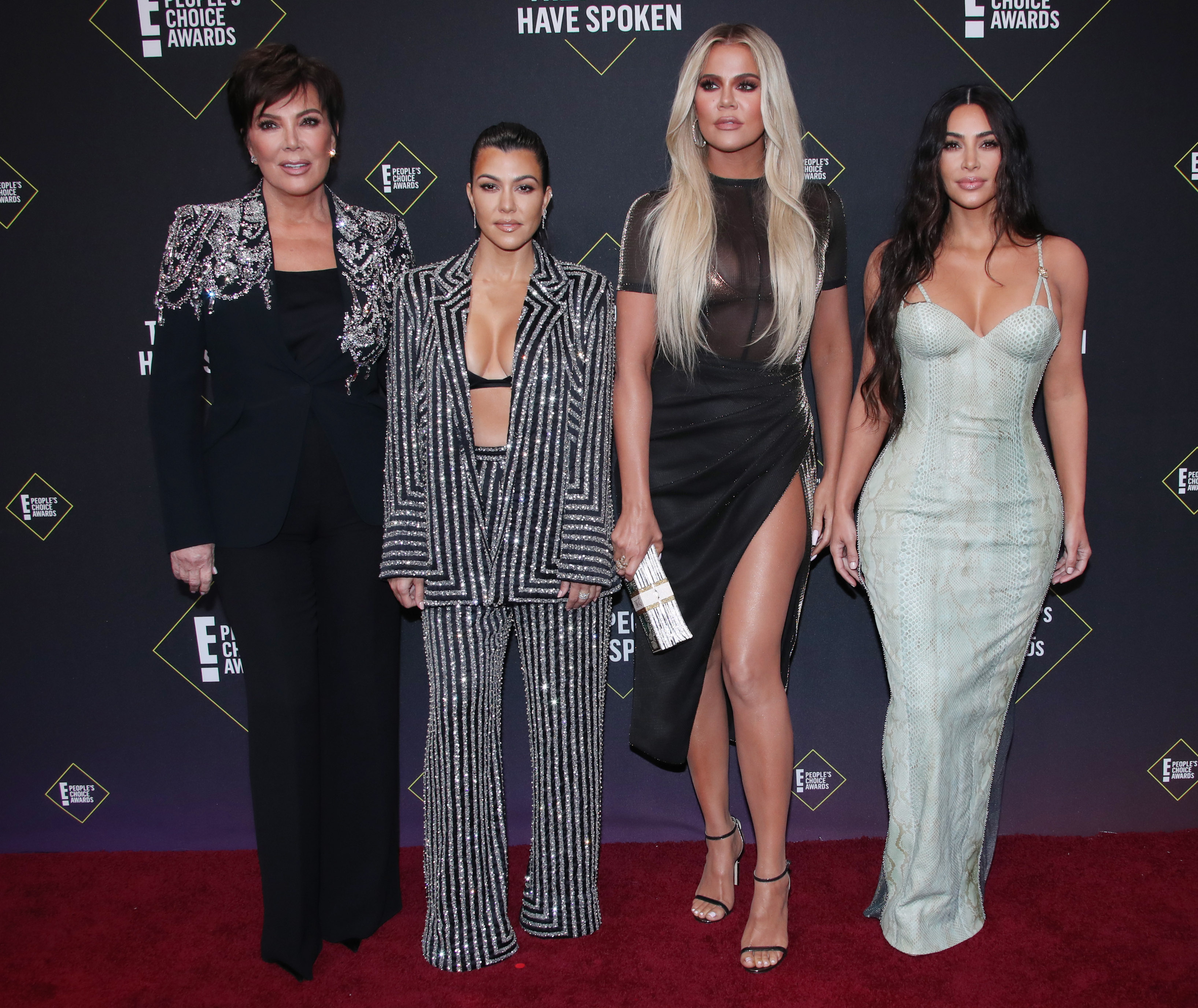 Kris Jenner, Kourtney Kardashian, Khloe Kardashian, Kim Kardashian West