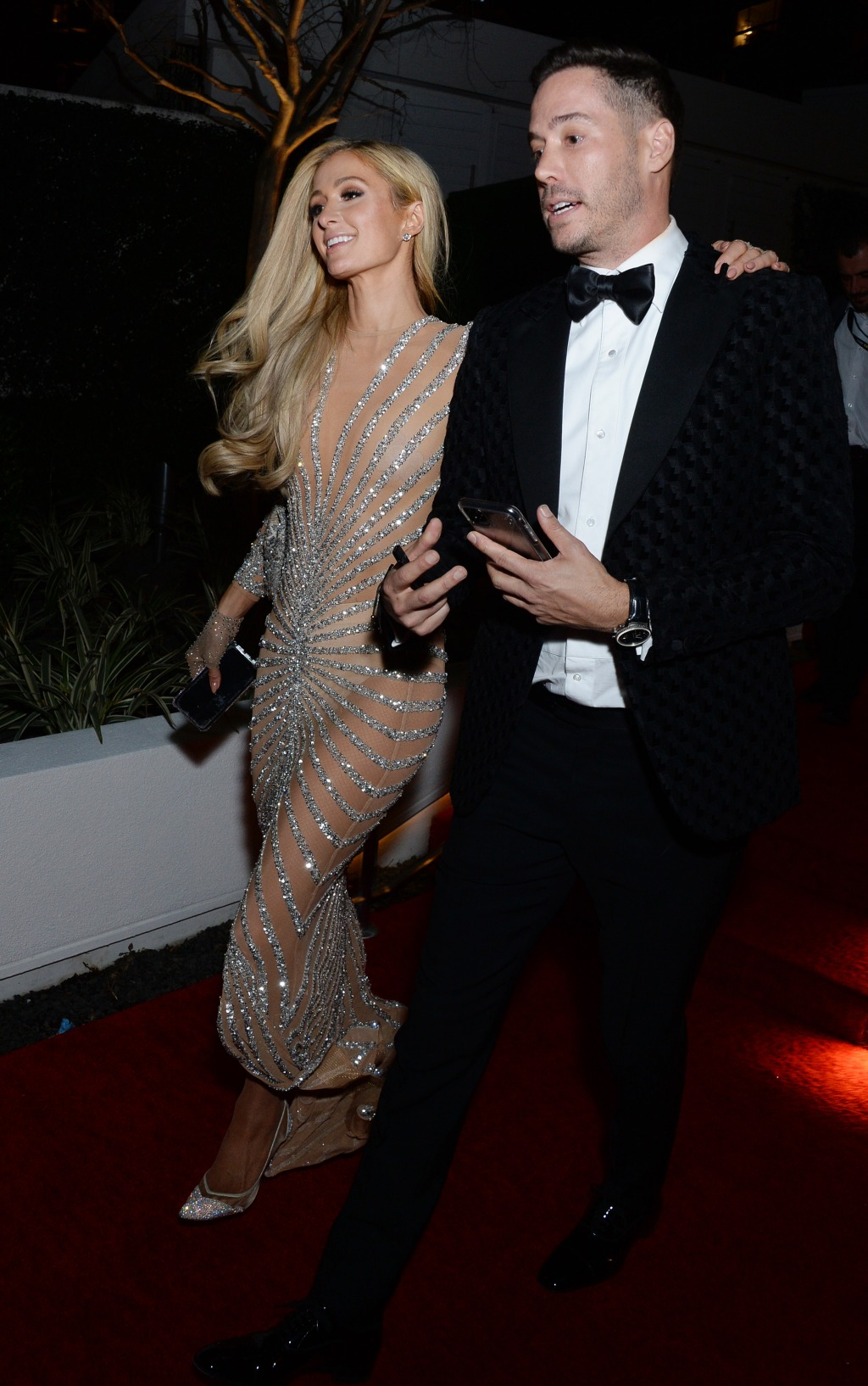 Paris Hilton and Carter Reum