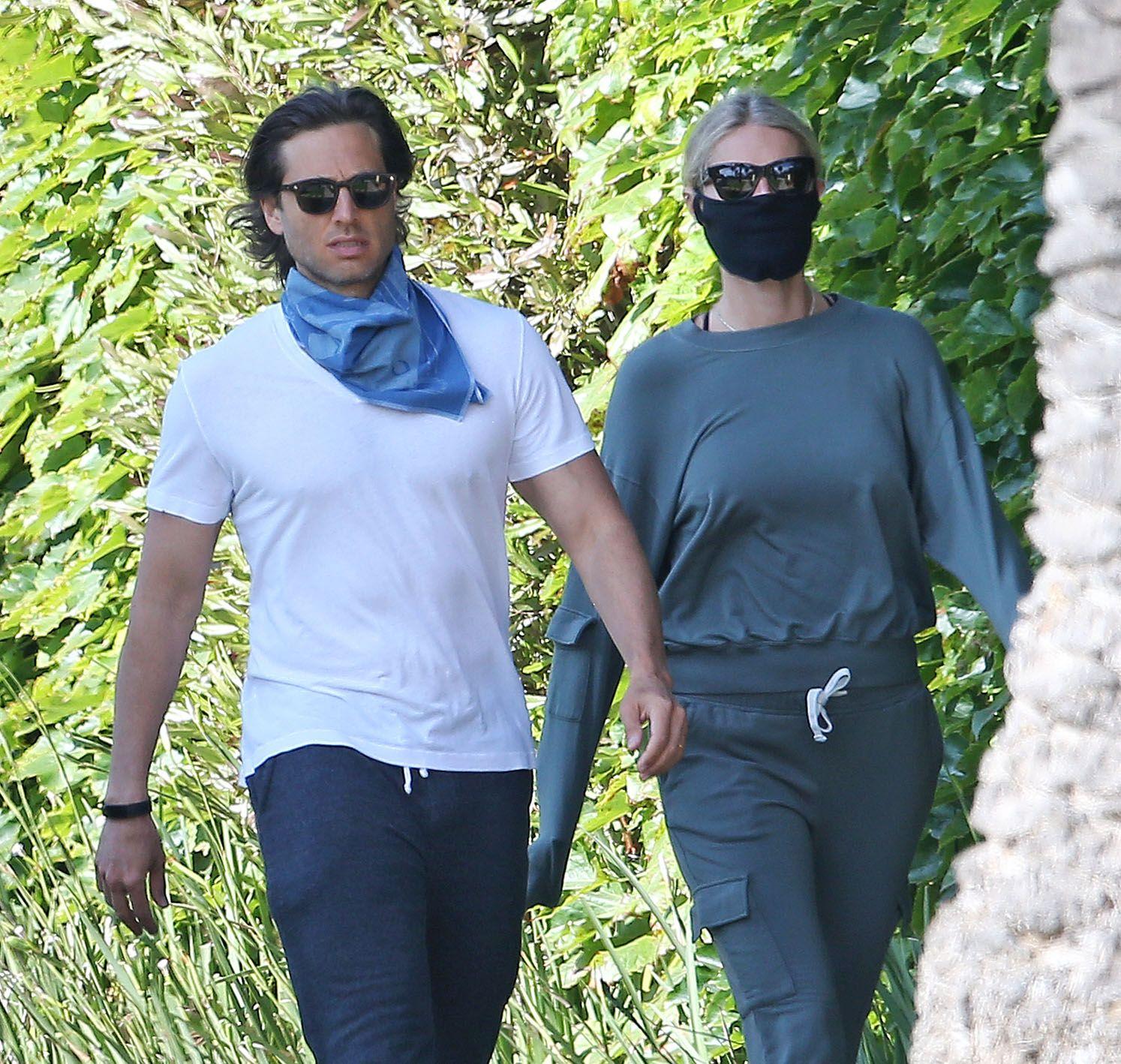 Gwyneth Paltrow and Brad Falchuk
