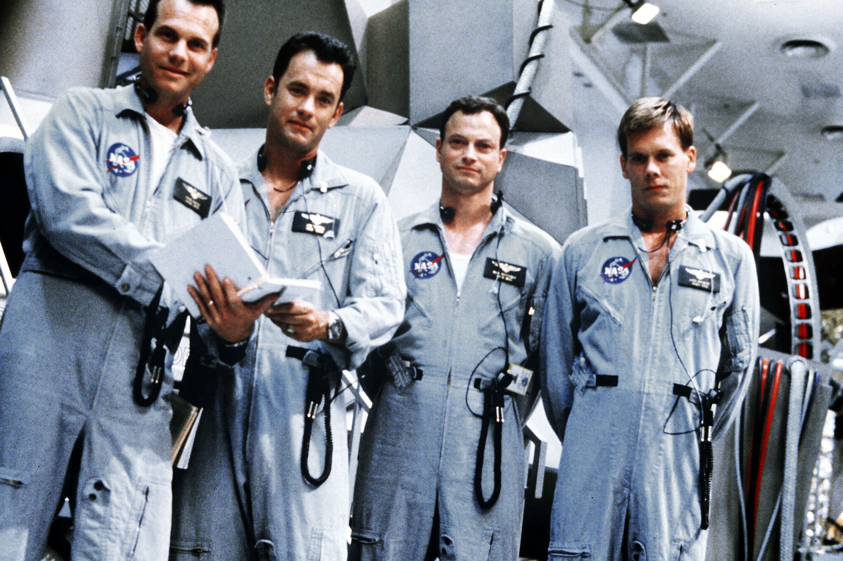 Bill Paxton, Tom Hanks, Gary Sinise, Kevin Bacon, Apollo 13