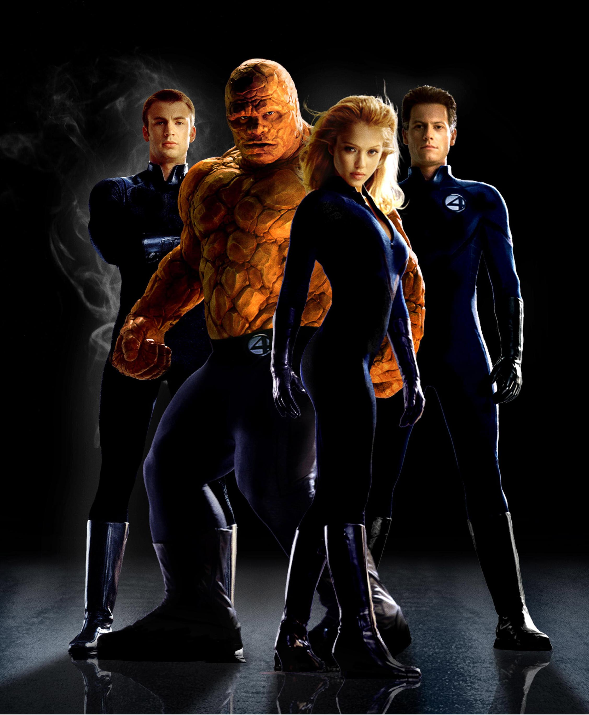Chris Evans, Michael Chiklis, Jessica Alba, Ioan Gruffudd, Fantastic Four