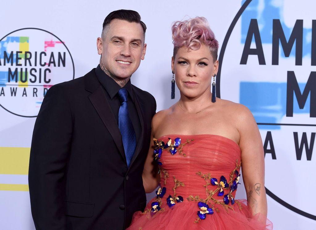 Pink, husband Carey Hart, American Music Awards