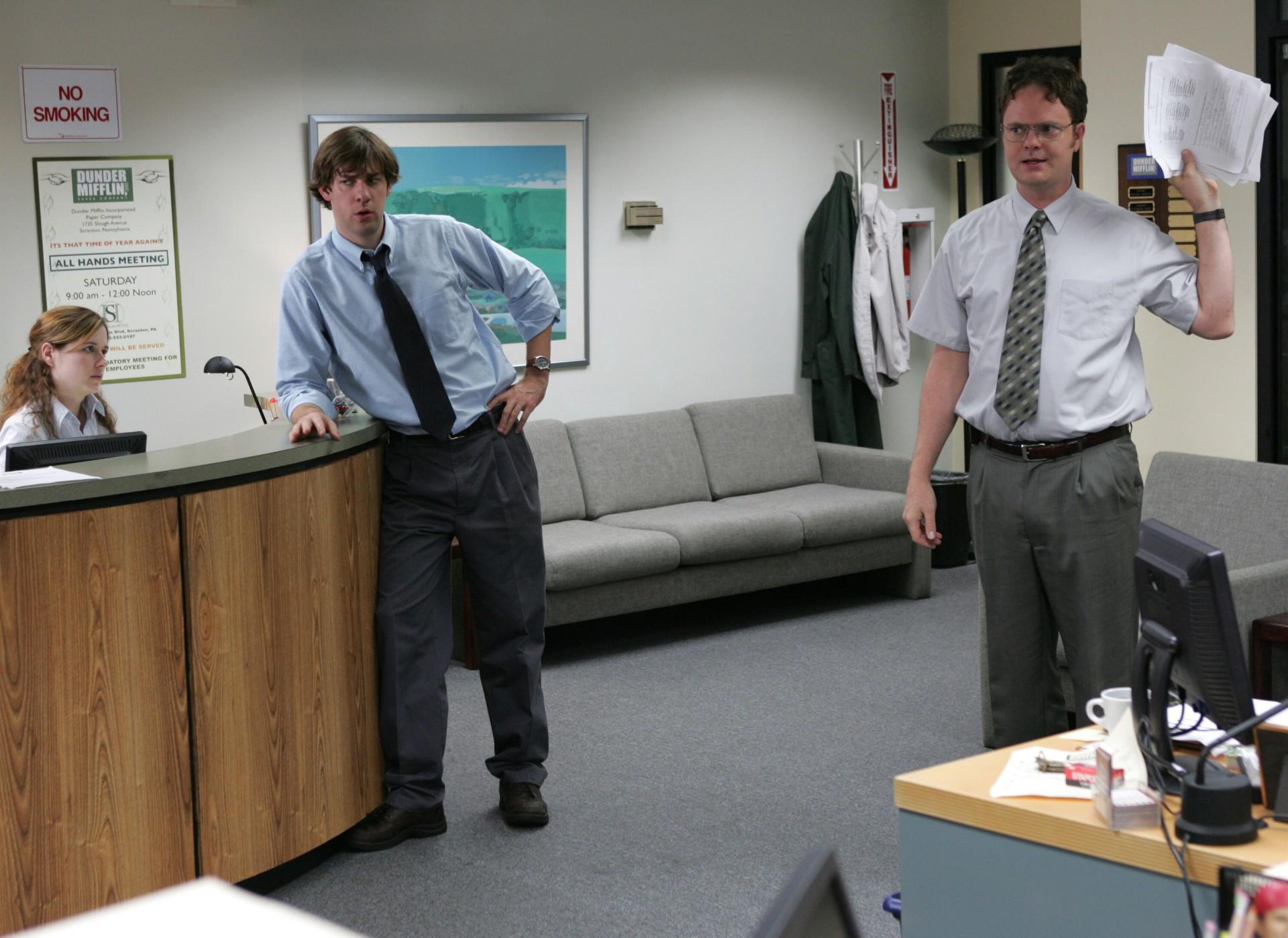 John Krasinski, Rainn Wilson, The Office
