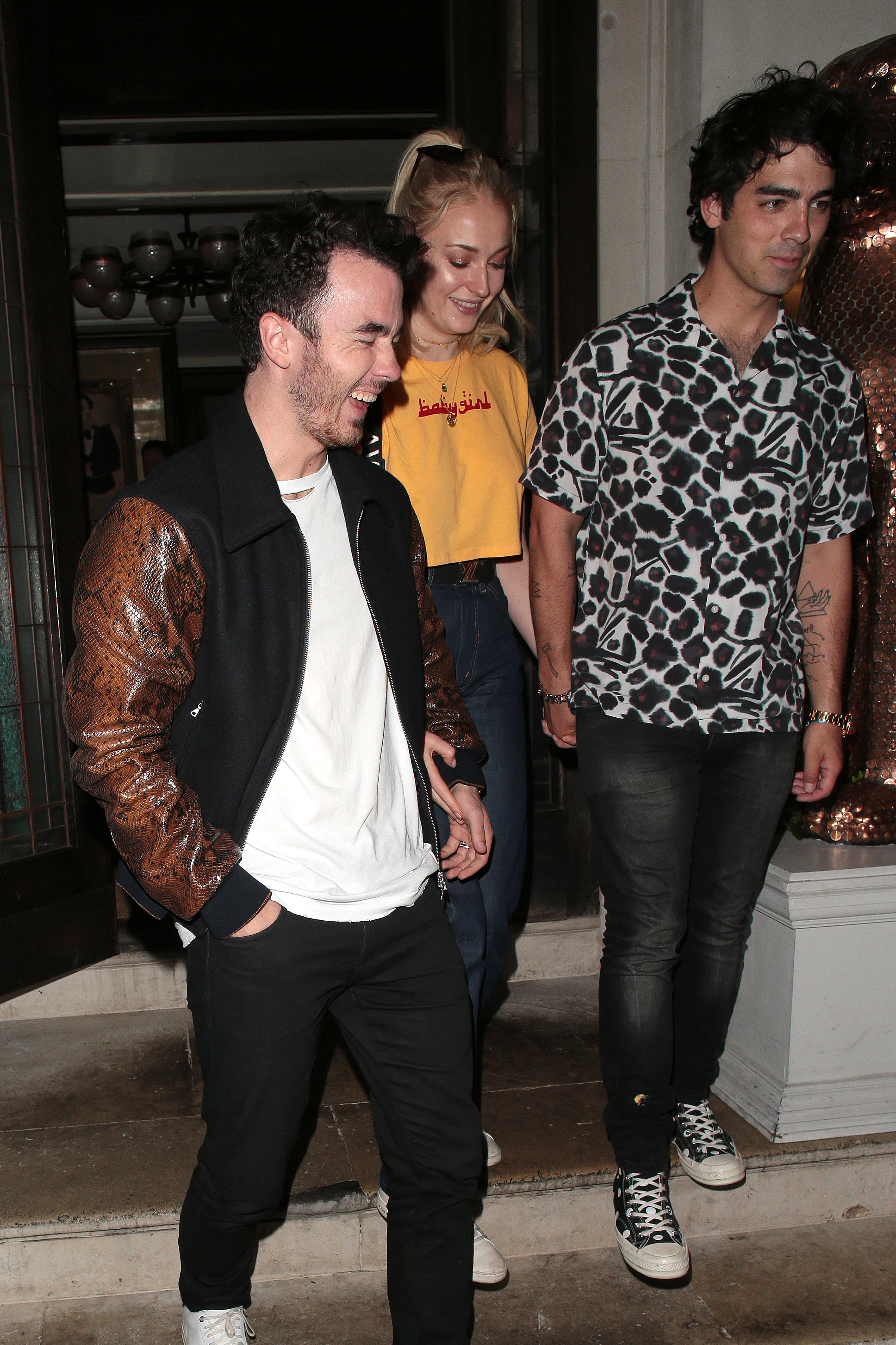 Kevin Jonas, Sophie Turner, Joe Jonas