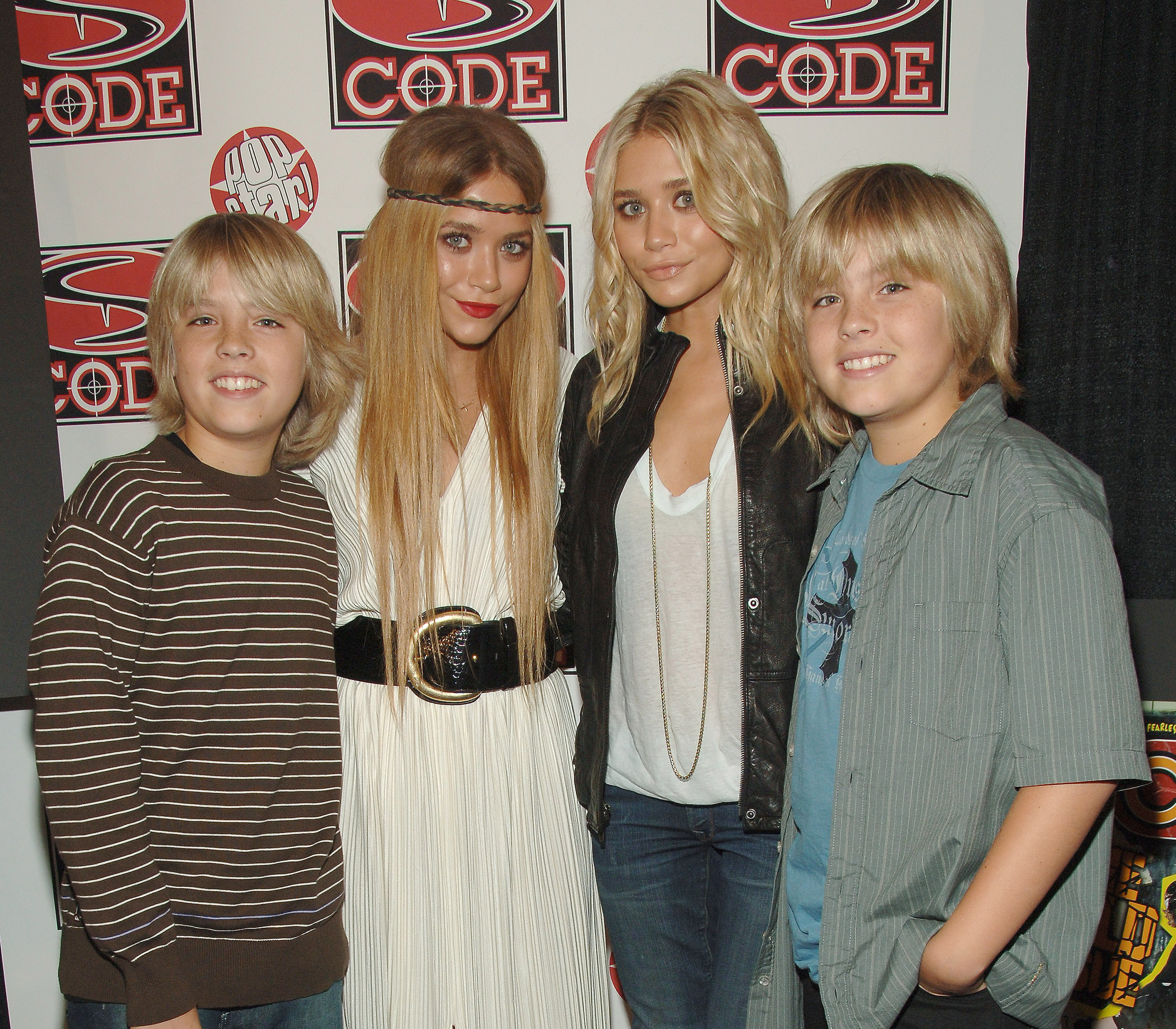 Dylan Sprouse, Cole Sprouse, Mary-Kate Olsen, Ashley Olsen