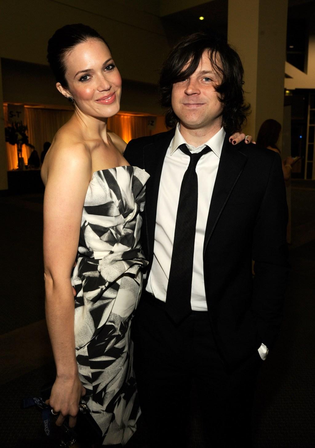 Mandy Moore and Ryan Adams