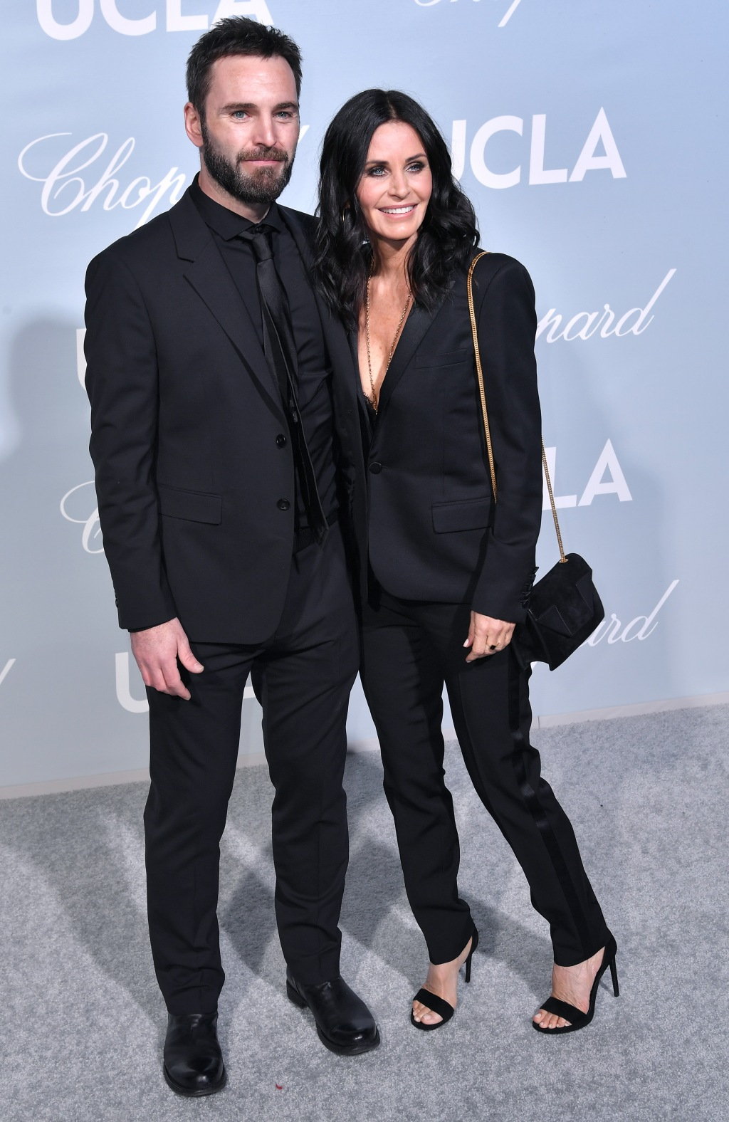 Johnny McDaid Courteney Cox