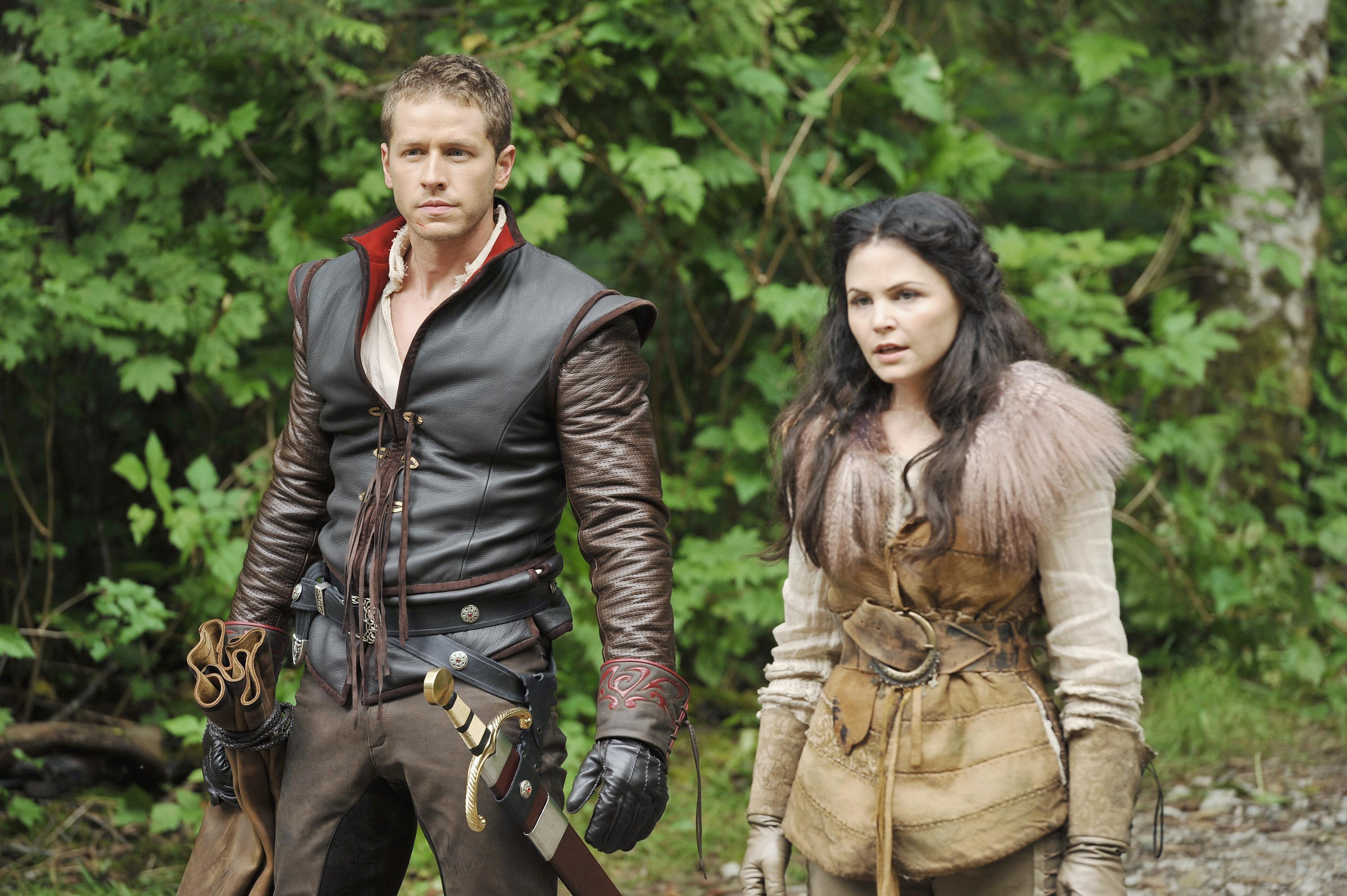 Joshua Dallas, Ginnifer Goodwin, Once Upon A Time