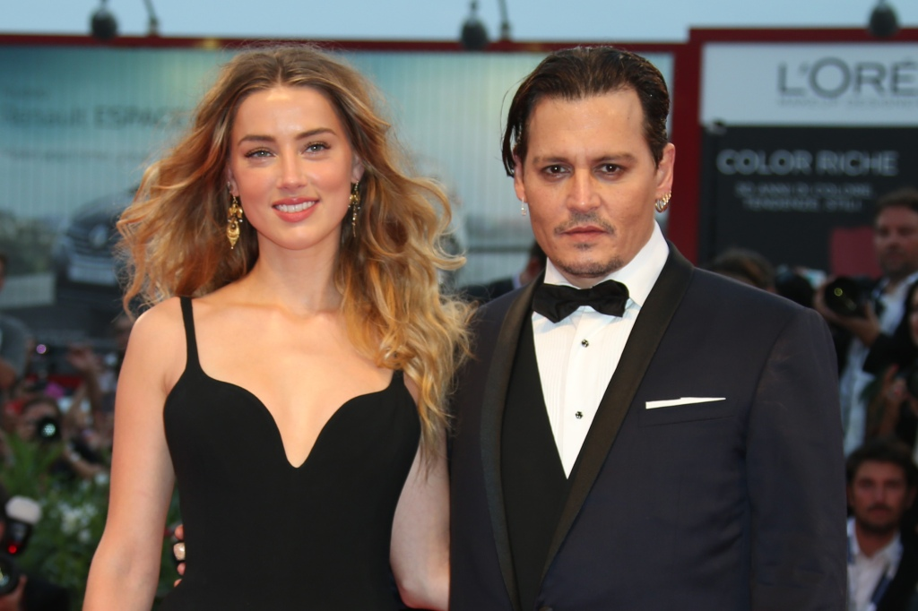 Johnny Depp, ex wife Amber Heard