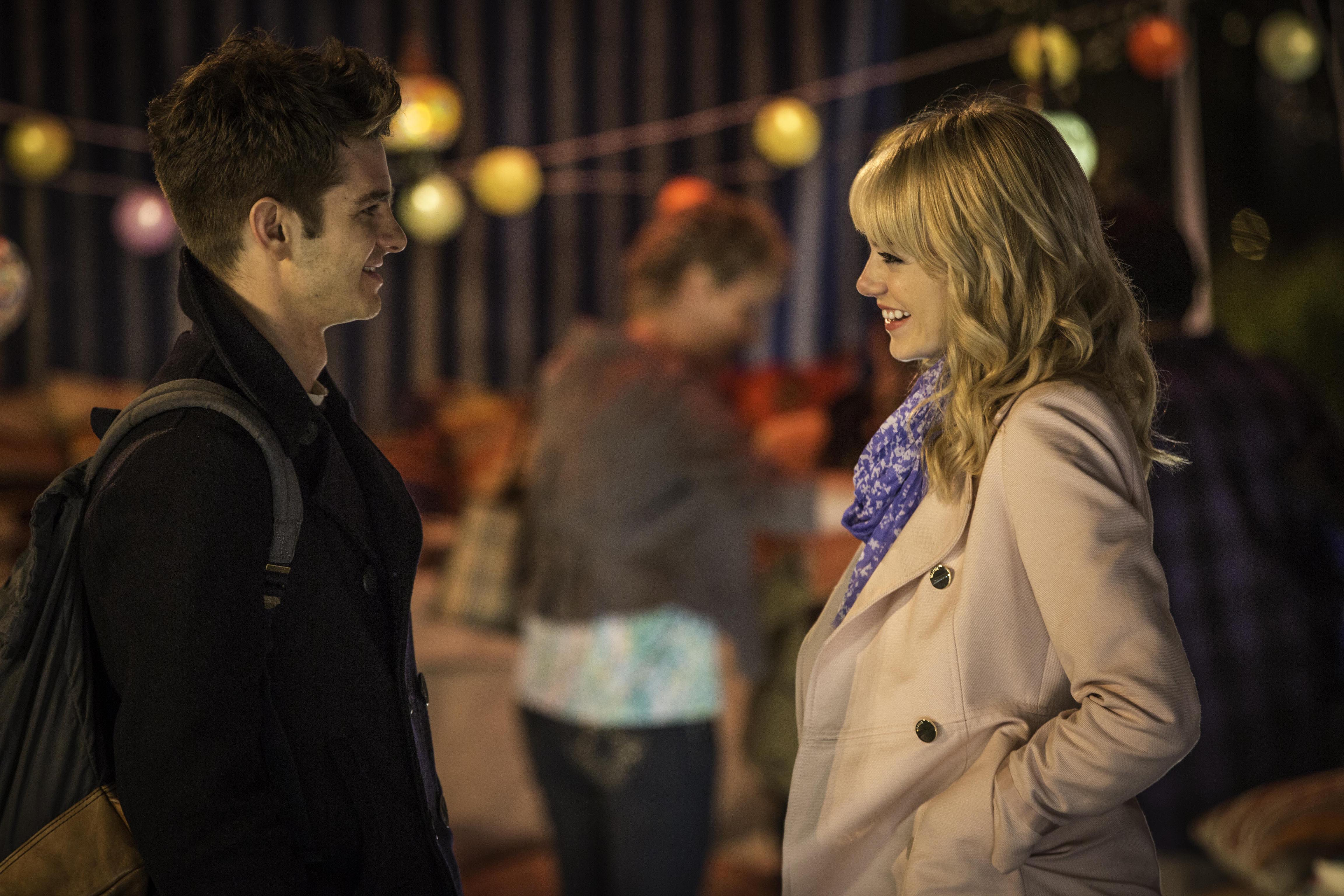The Amazing Spider-Man 2, Andrew Garfield and Emma Stone