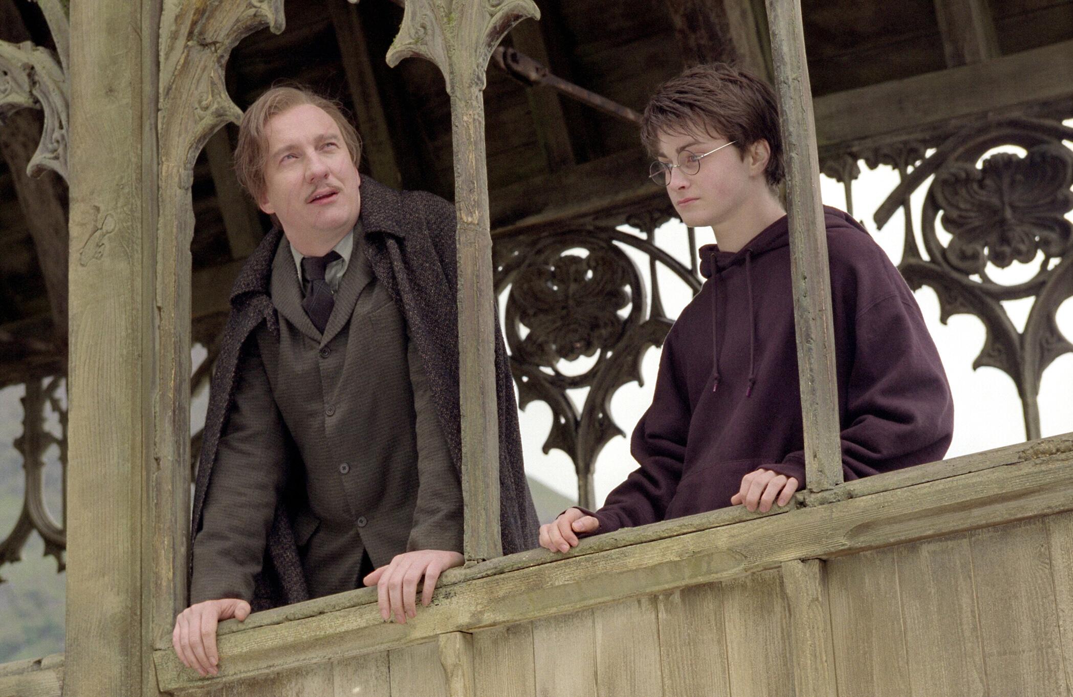 Harry Potter and the Prisoner of Azkaban, David Thewlis, Daniel Radcliffe, Professor Lupin
