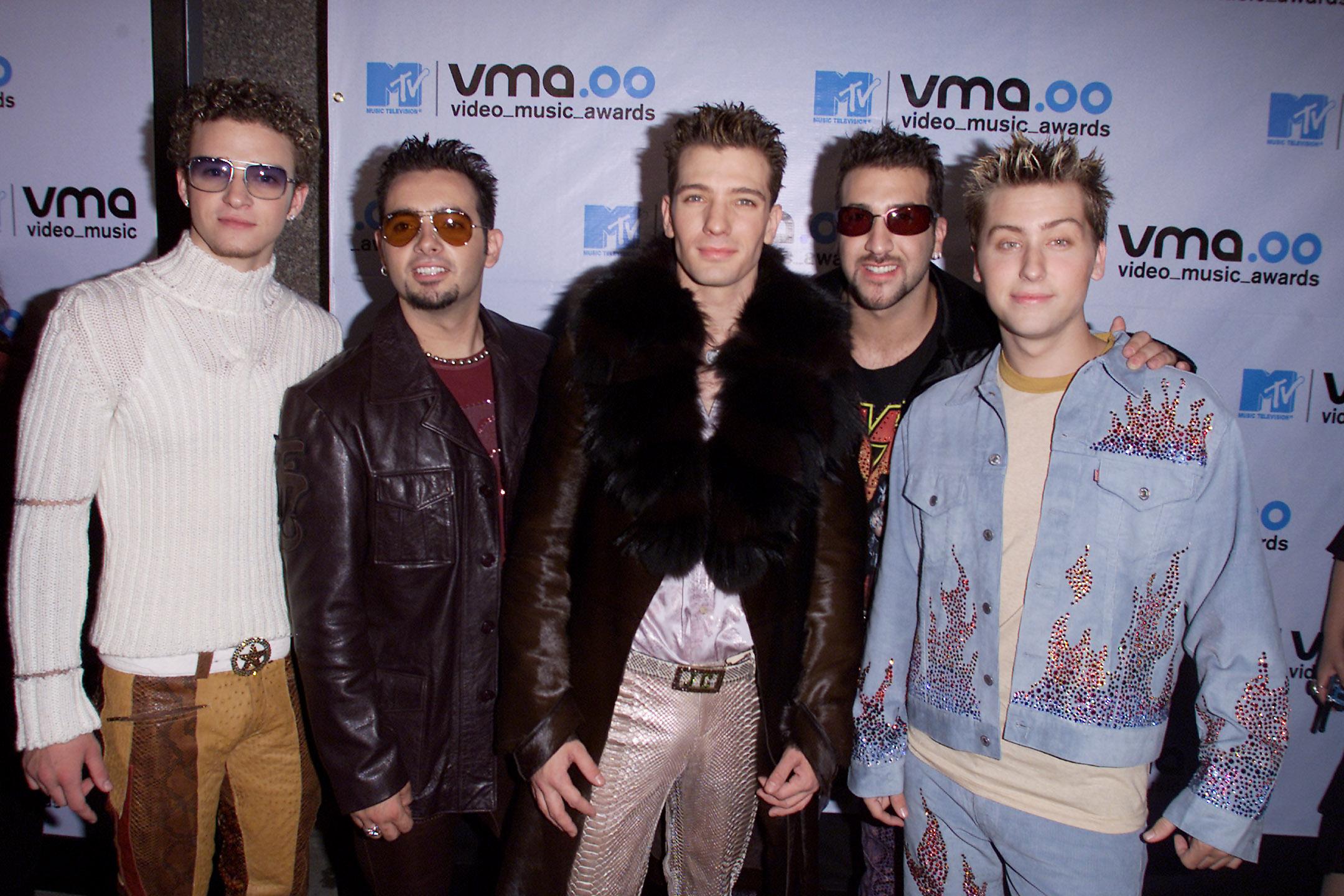 Justin Timberlake, JC Chasez, Lance Bass, Chris Kirkpatrick, Joey Fatone, *NSYNC