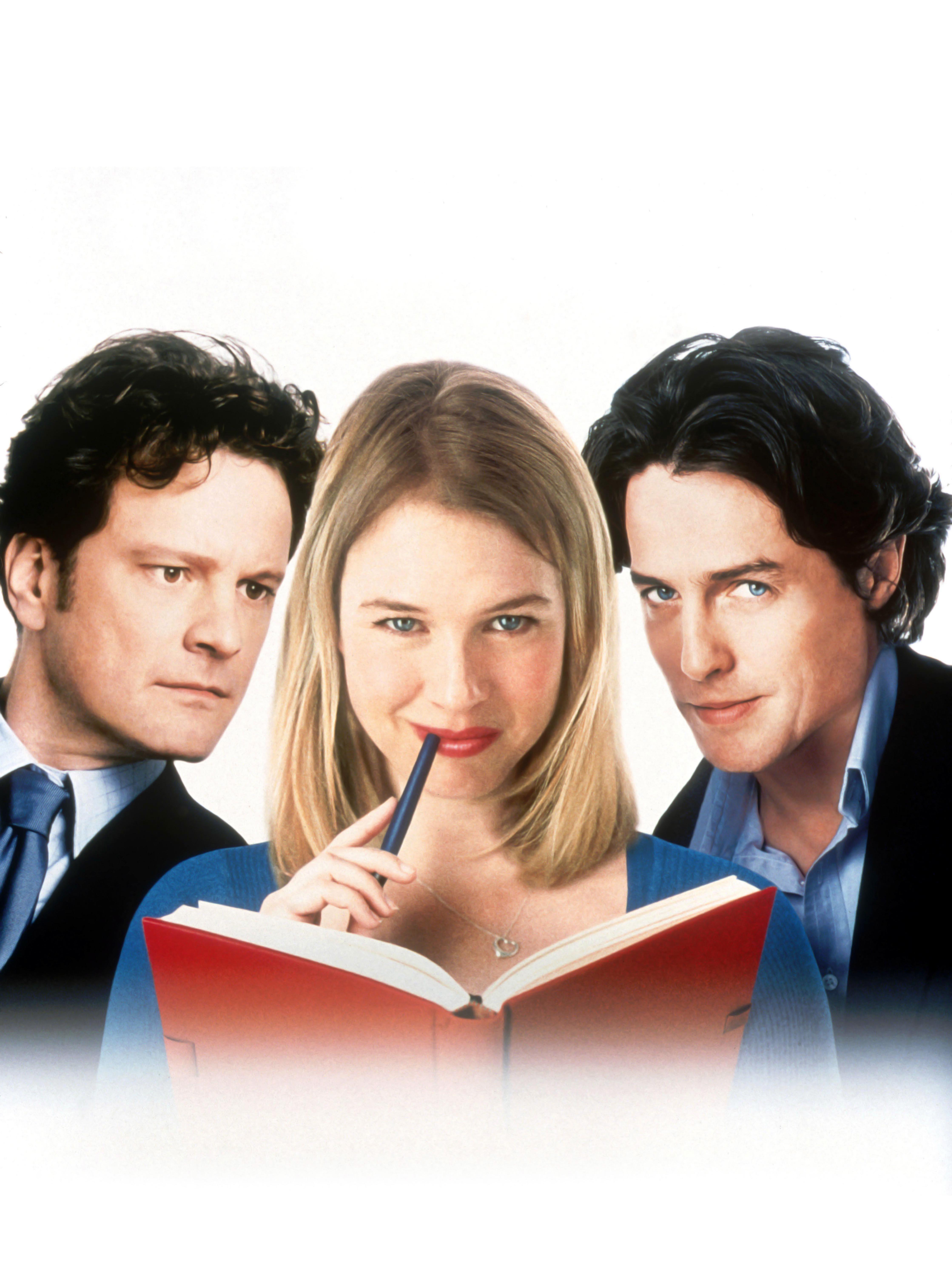 Colin Firth, Renee Zellweger, Hugh Grant, Bridget Jones's Diary