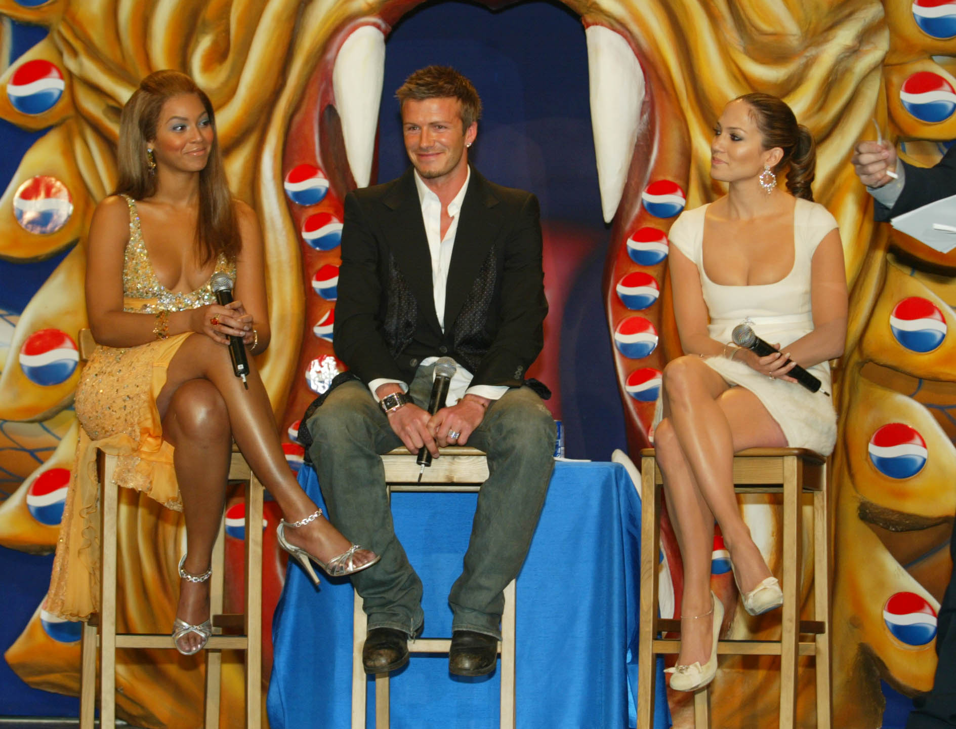 Beyonce Knowles David Beckham And Jennifer Lopez