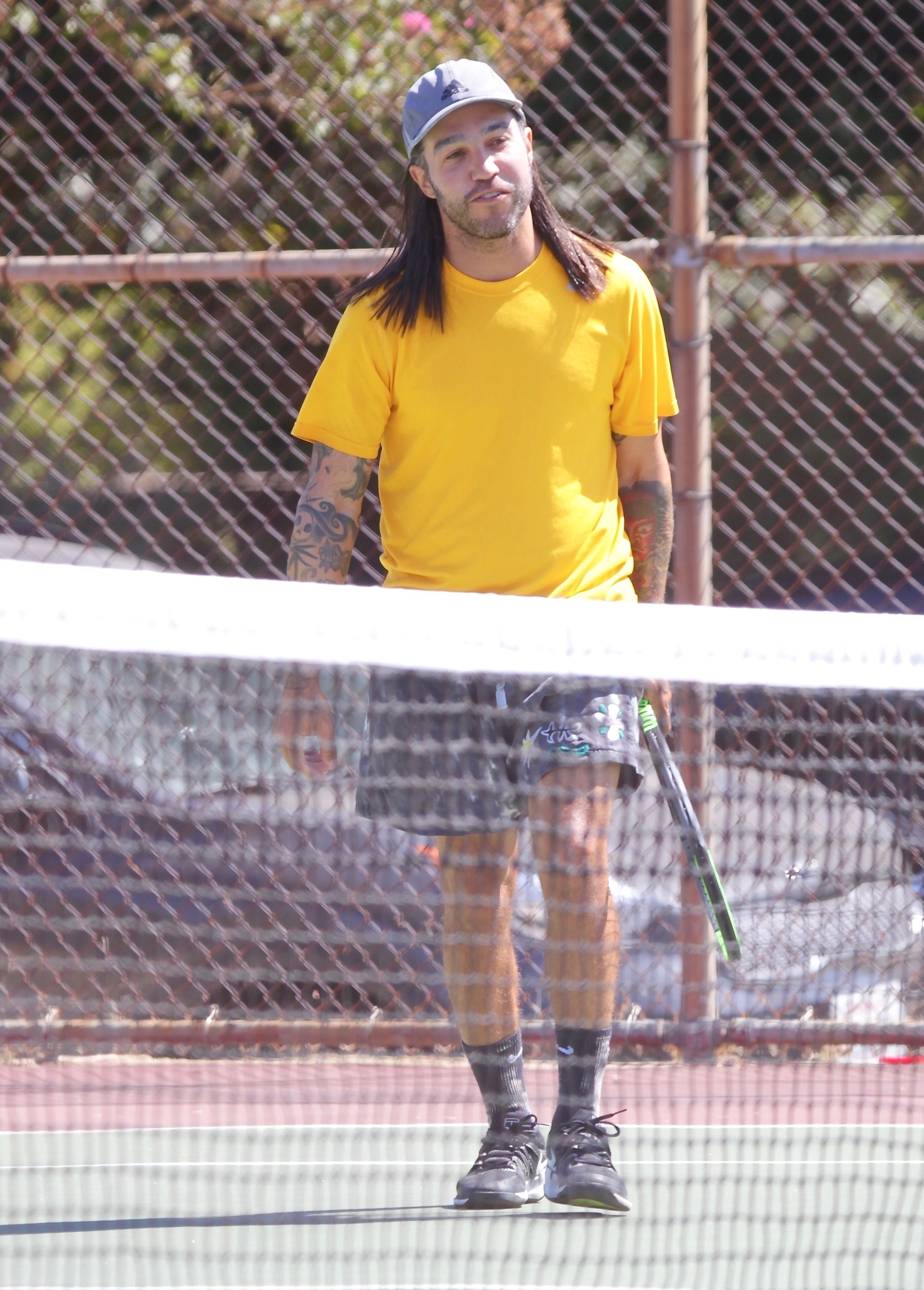 Pete Wentz tennis