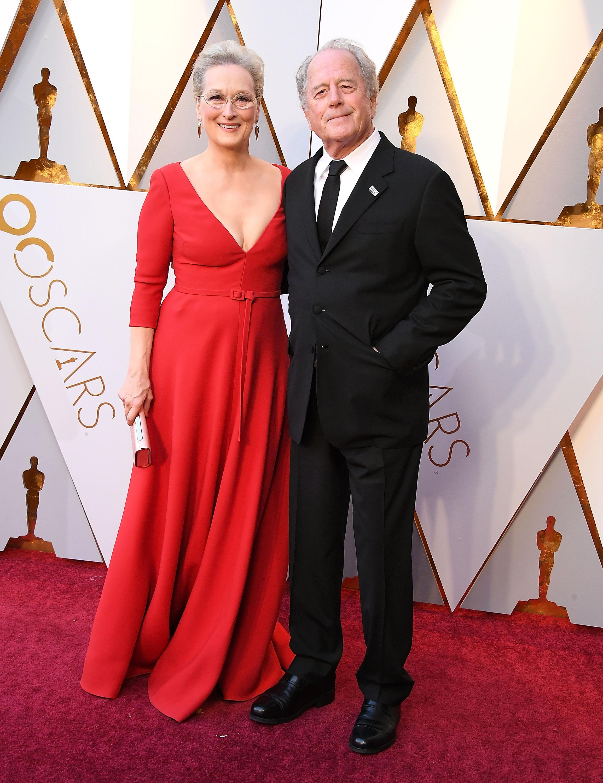 Meryl Streep and husband Don Gummer