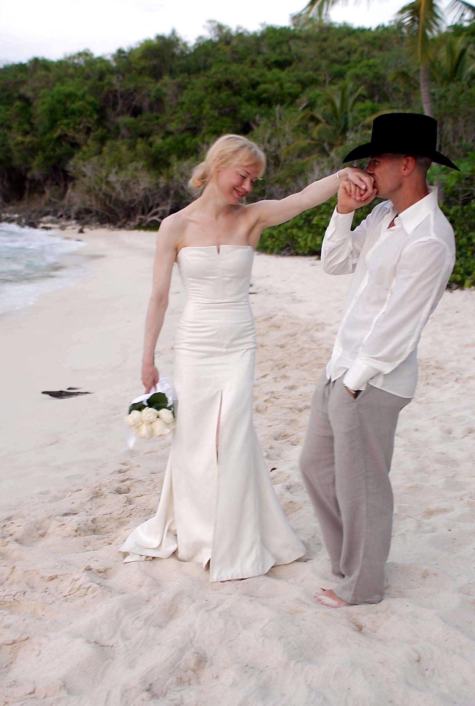 Renee Zellweger, Kenny Chesney wedding