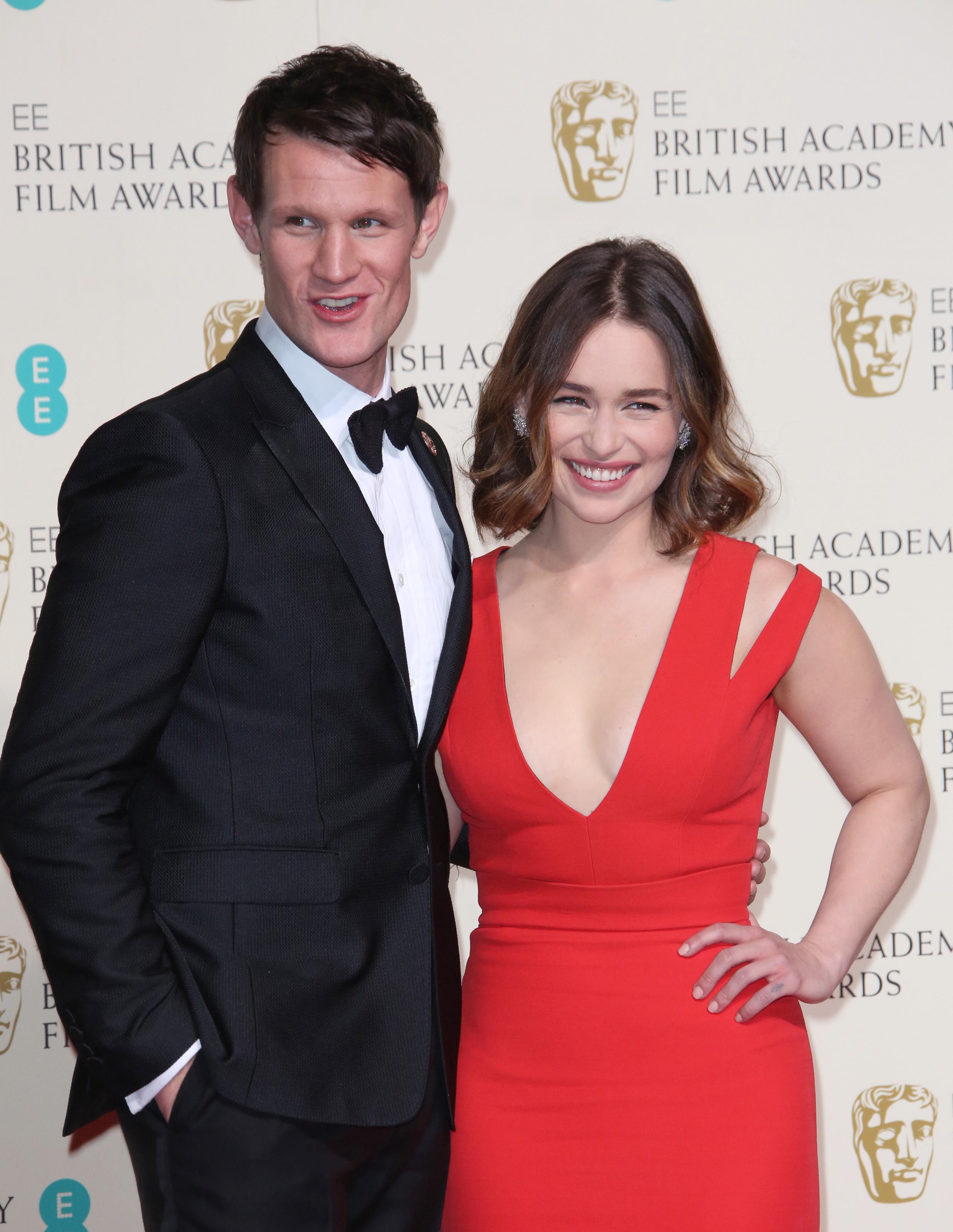 Emilia Clarke, Matt Smith, BAFTA Awards
