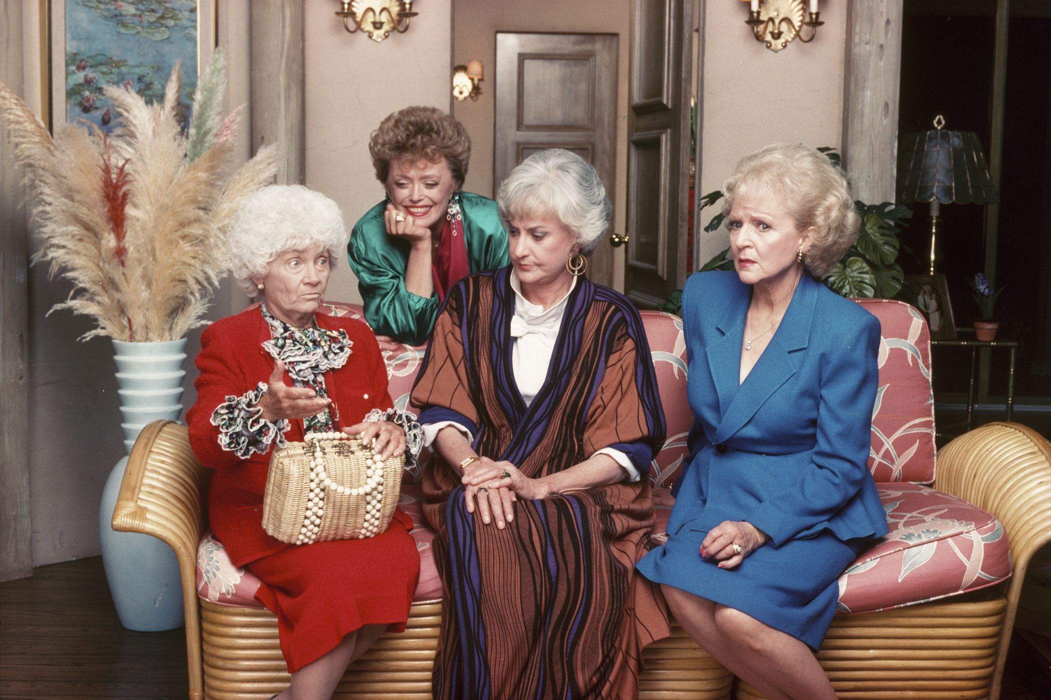 The Golden Girls, Estelle Getty, Rue McClanahan, Bea Arthur, Betty White