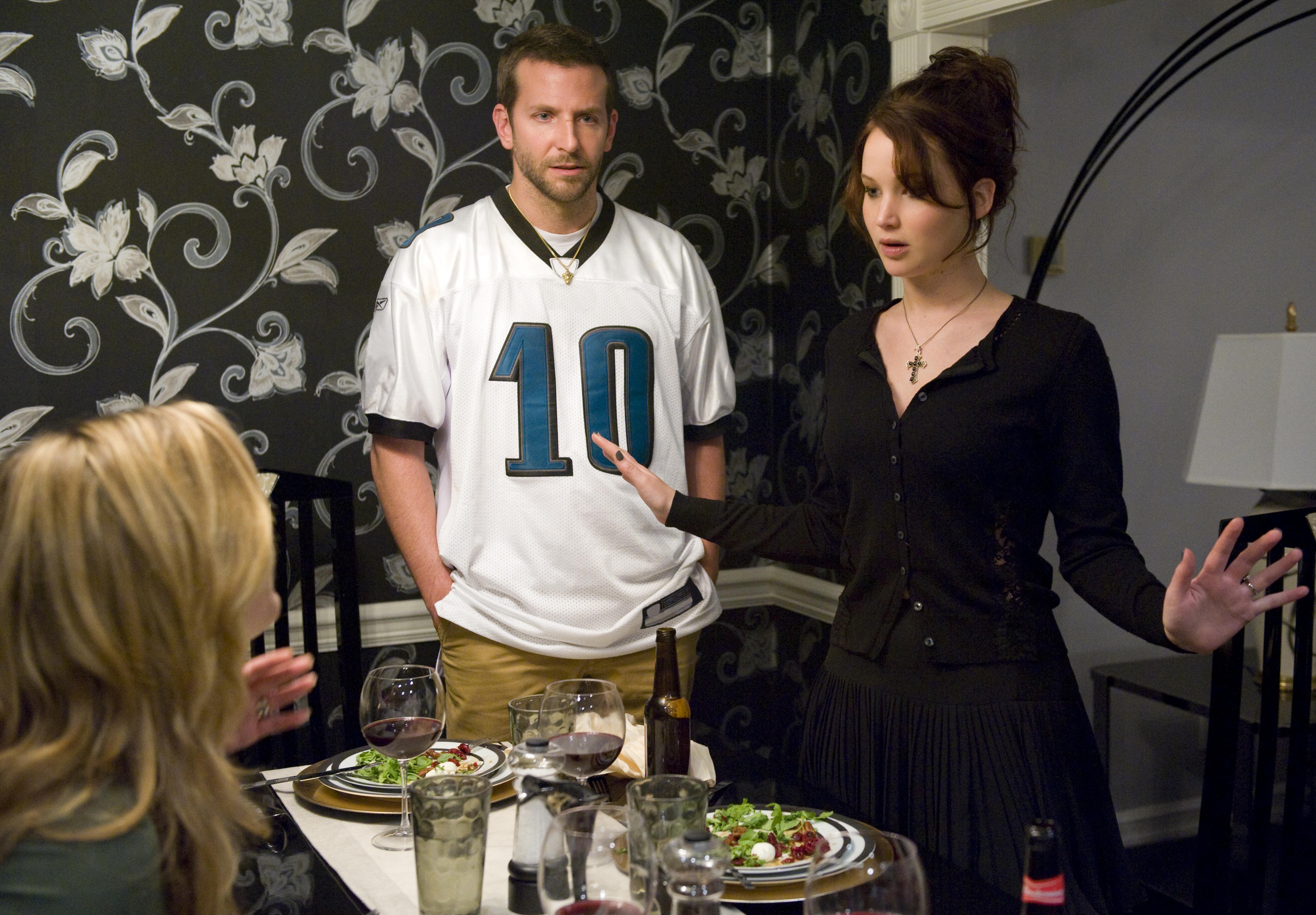 Bradley Cooper, Jennifer Lawrence, Silver Linings Playbook