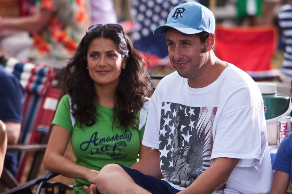 Salma Hayek, Adam Sandler, Grown Ups