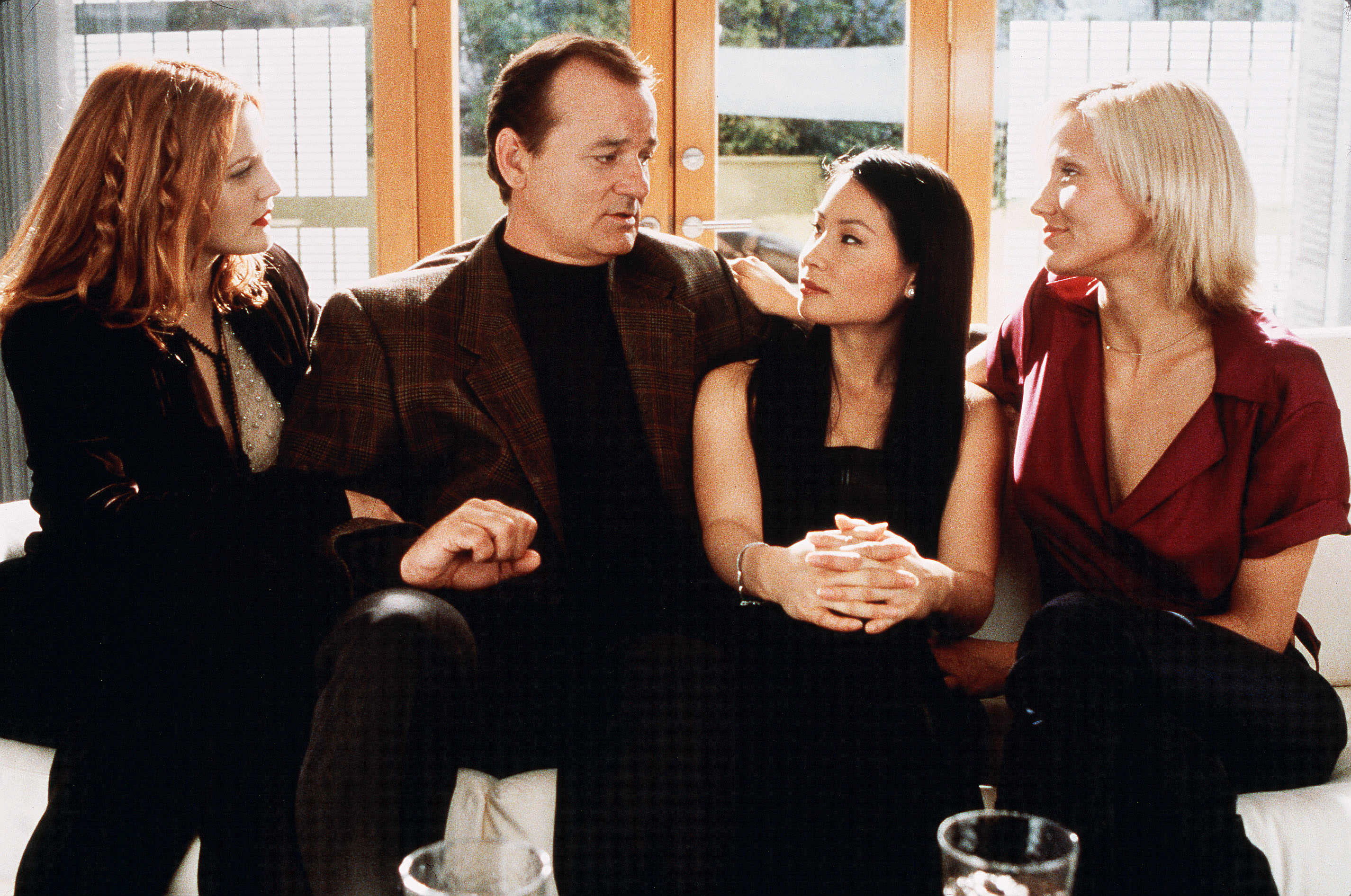 Drew Barrymore, Bill Murray, Lucy Liu, Cameron Diaz, Charlie's Angels
