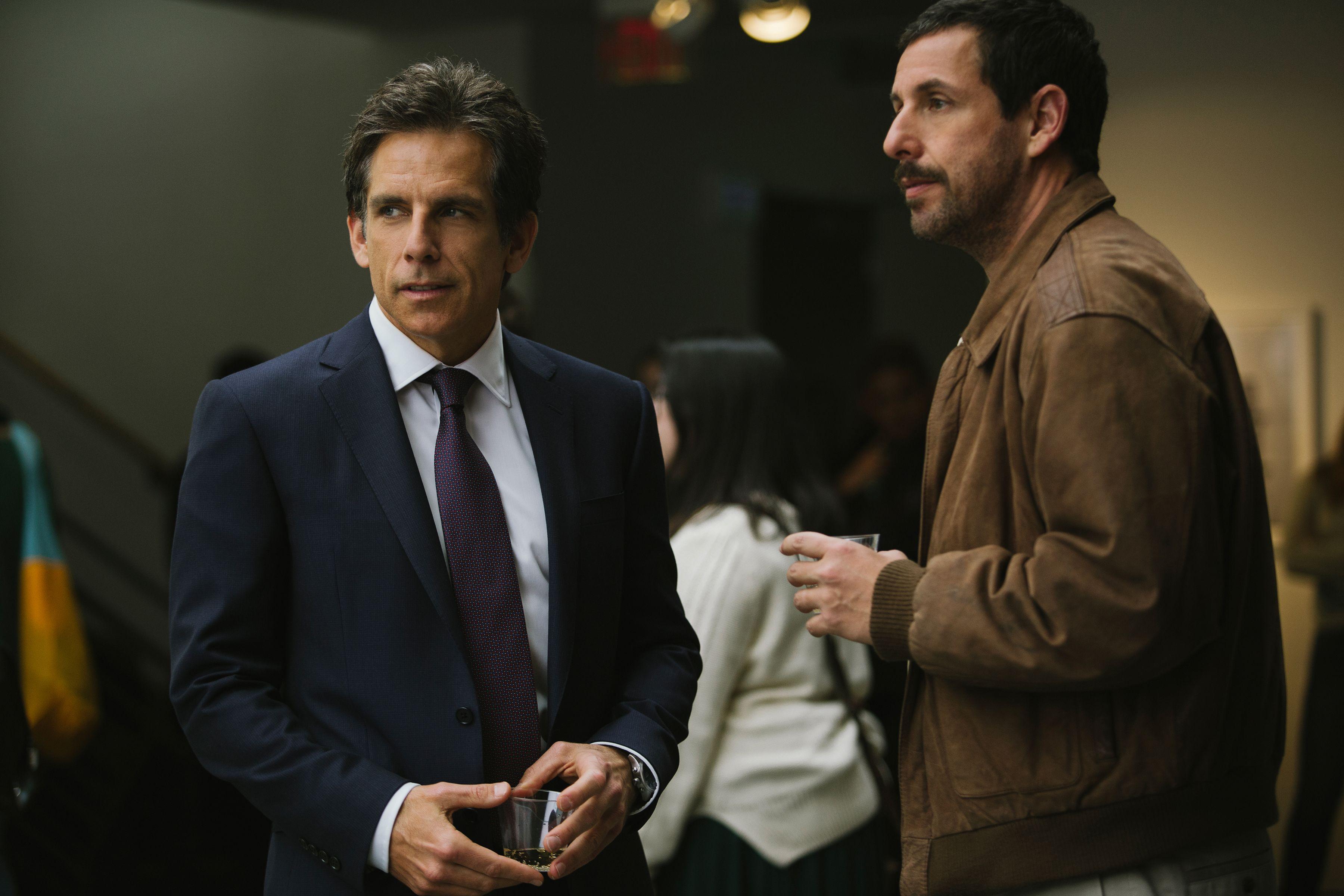 Ben Stiller, Adam Sandler, The Meyerowitz Stories