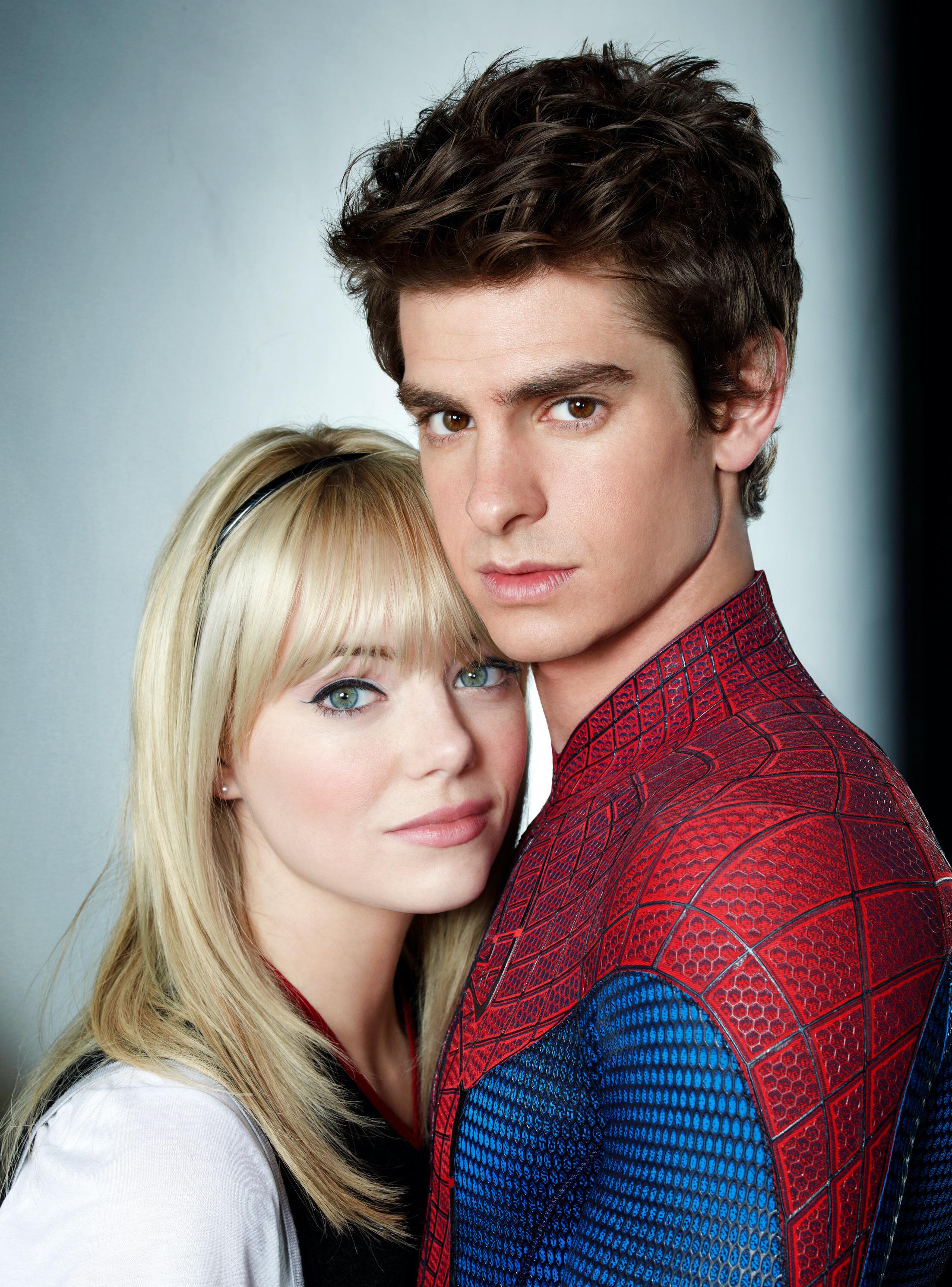 Emma Stone, Andrew Garfield, The Amazing Spider-Man