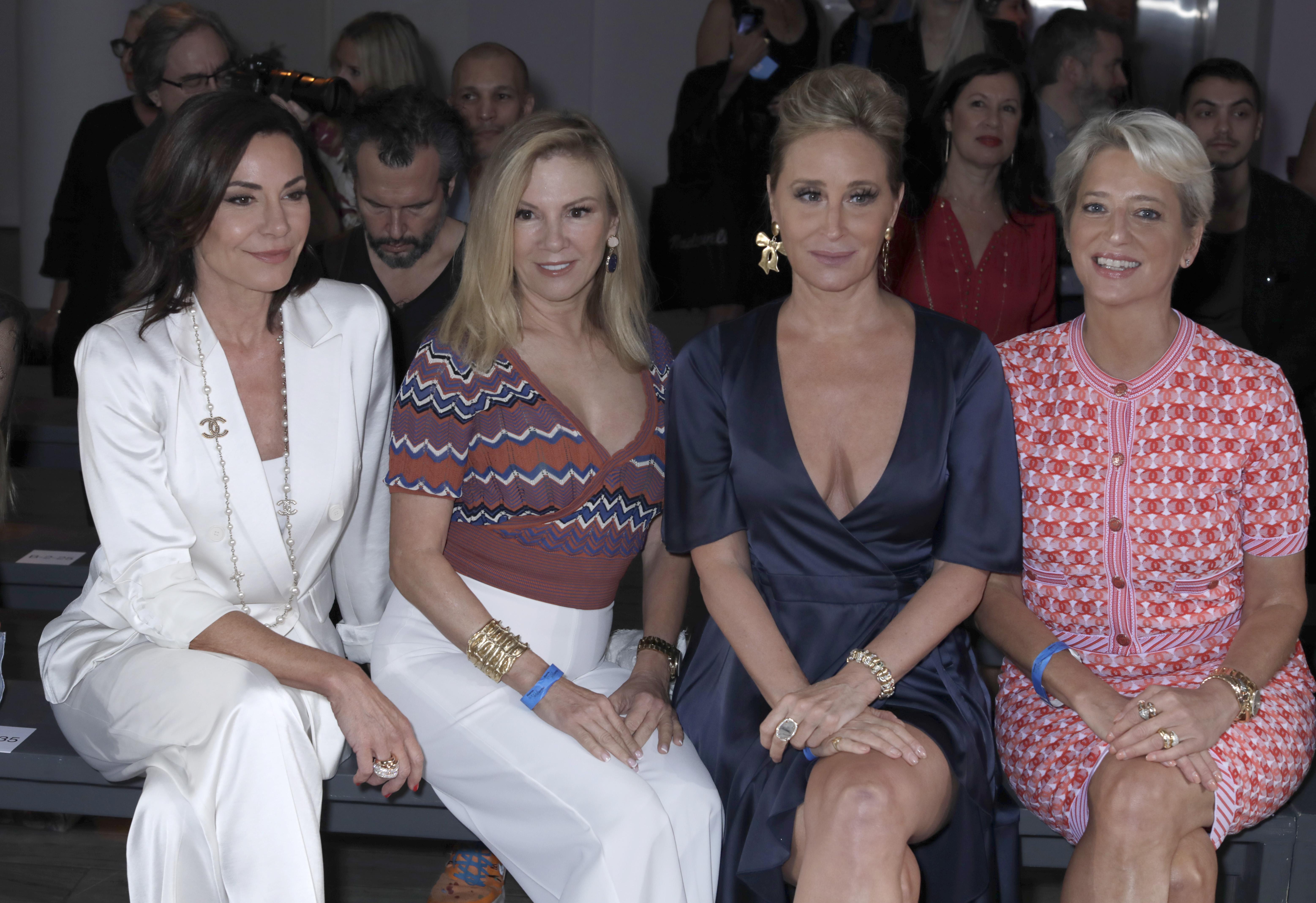 Luann de Lesseps, Ramona Singer, Sonja Morgan, and Dorinda Medley