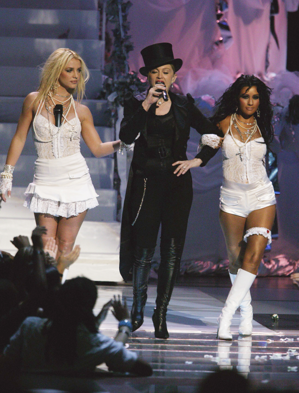 Britney Spears, Madonna, Christina Aguilera