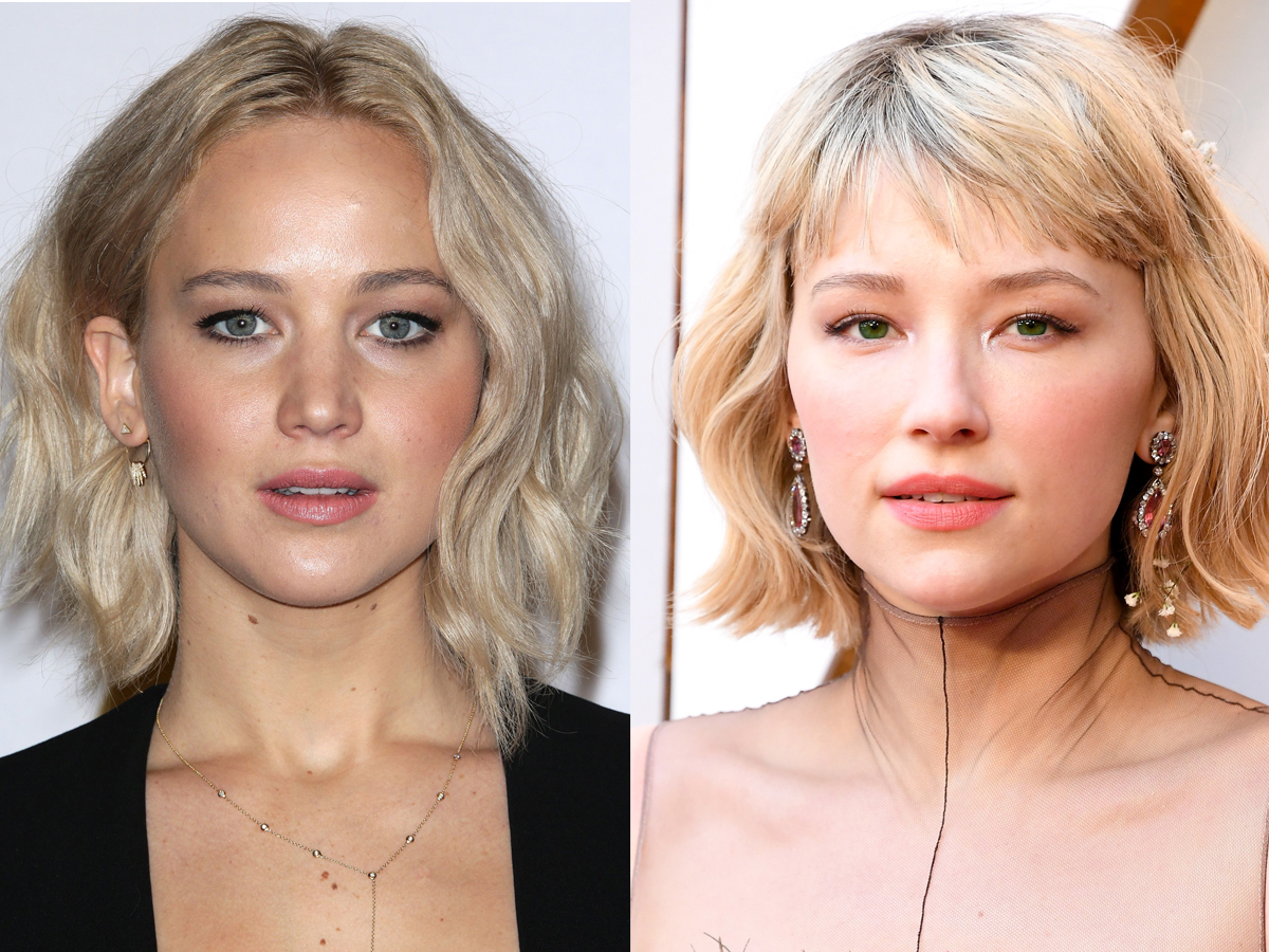 Jennifer Lawrence, Haley Bennett split