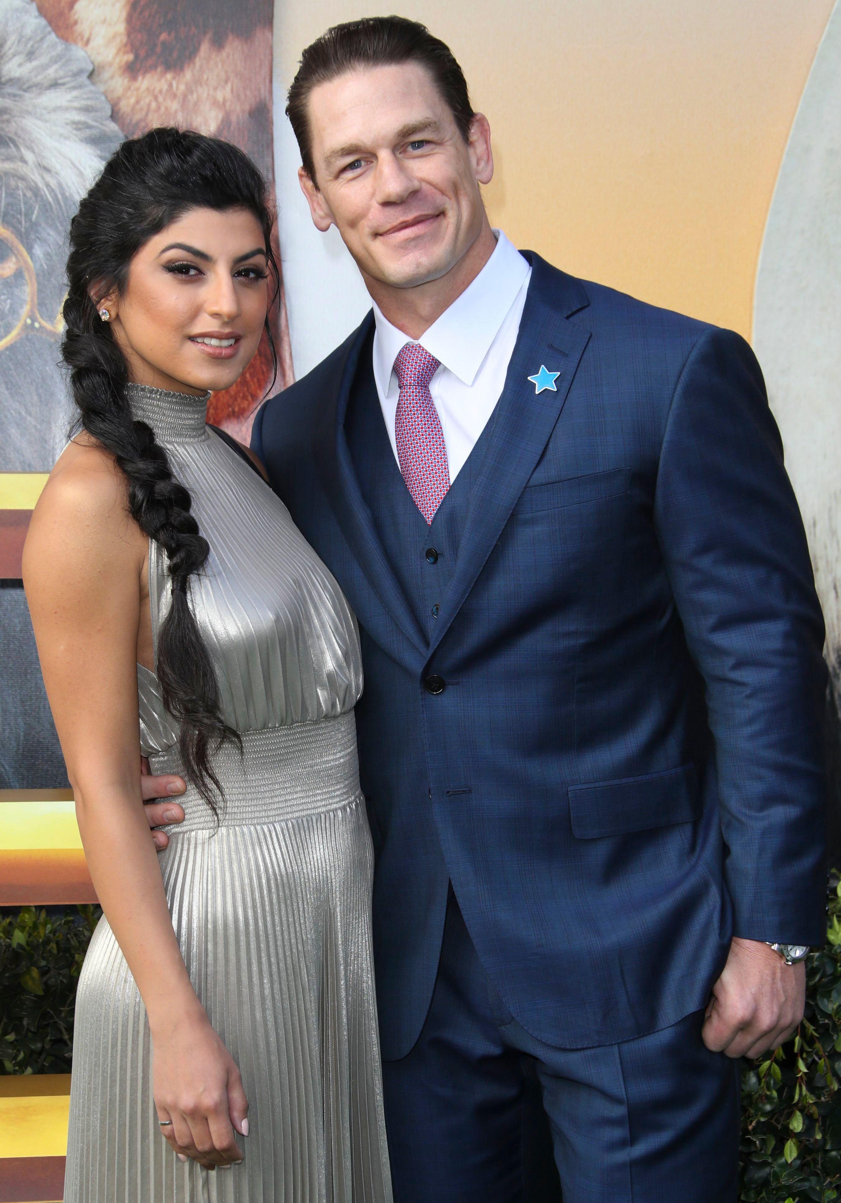 John Cena, wife Shay Shariatzadeh